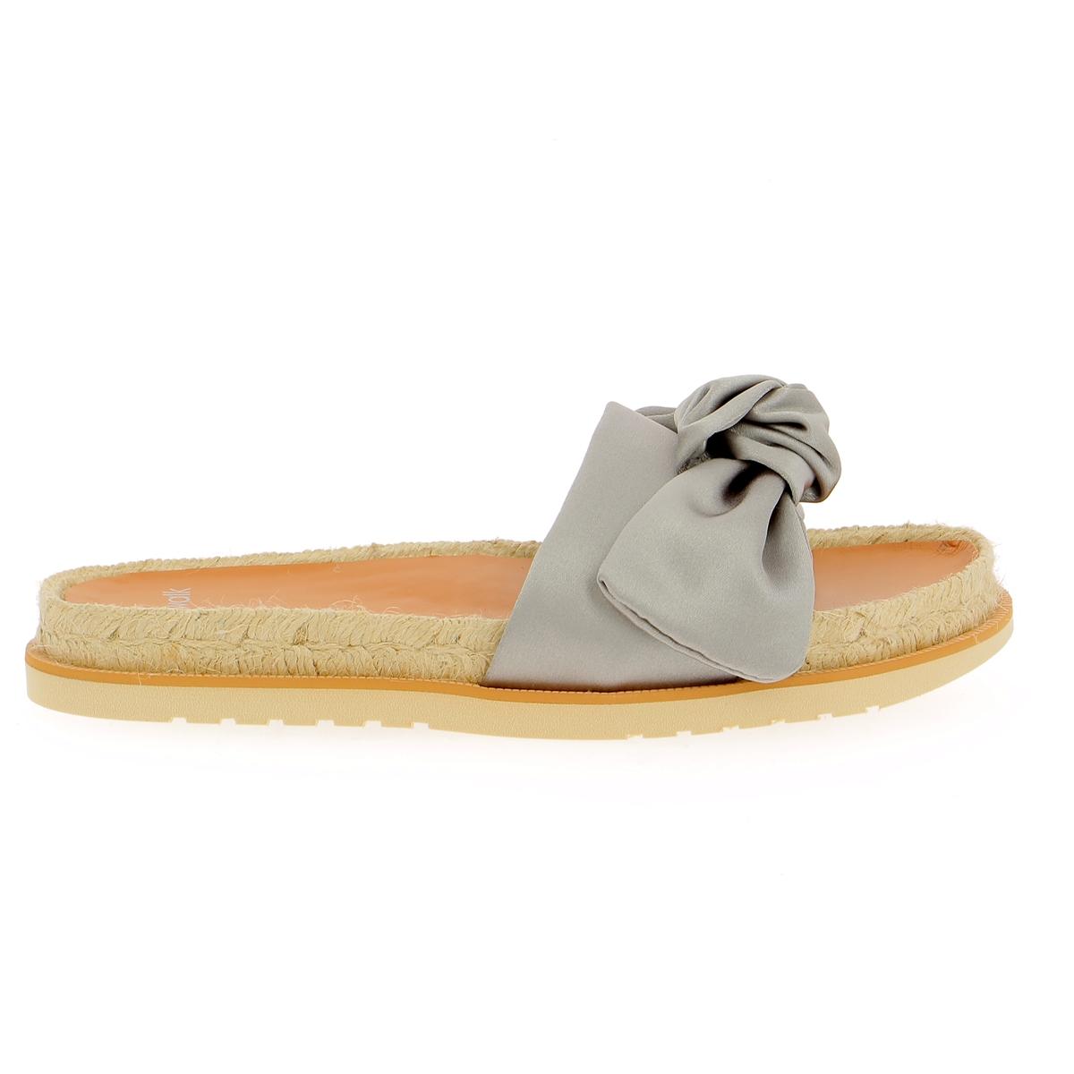 Catwalk Muiltjes - slippers zilver