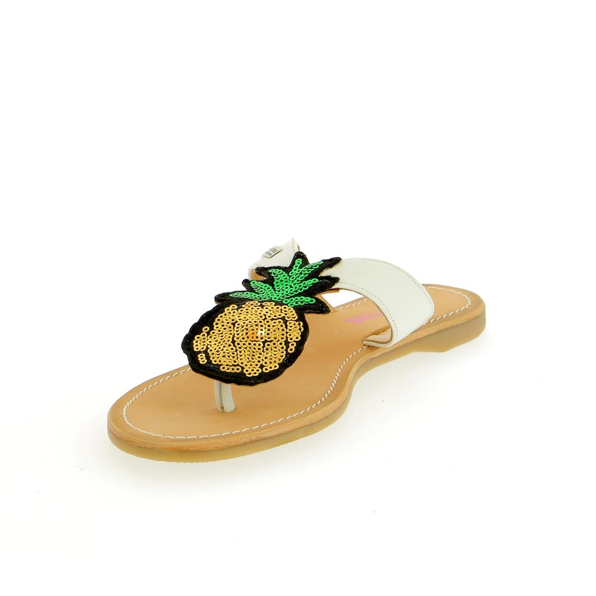 Tropezienne Muiltjes - slippers wit