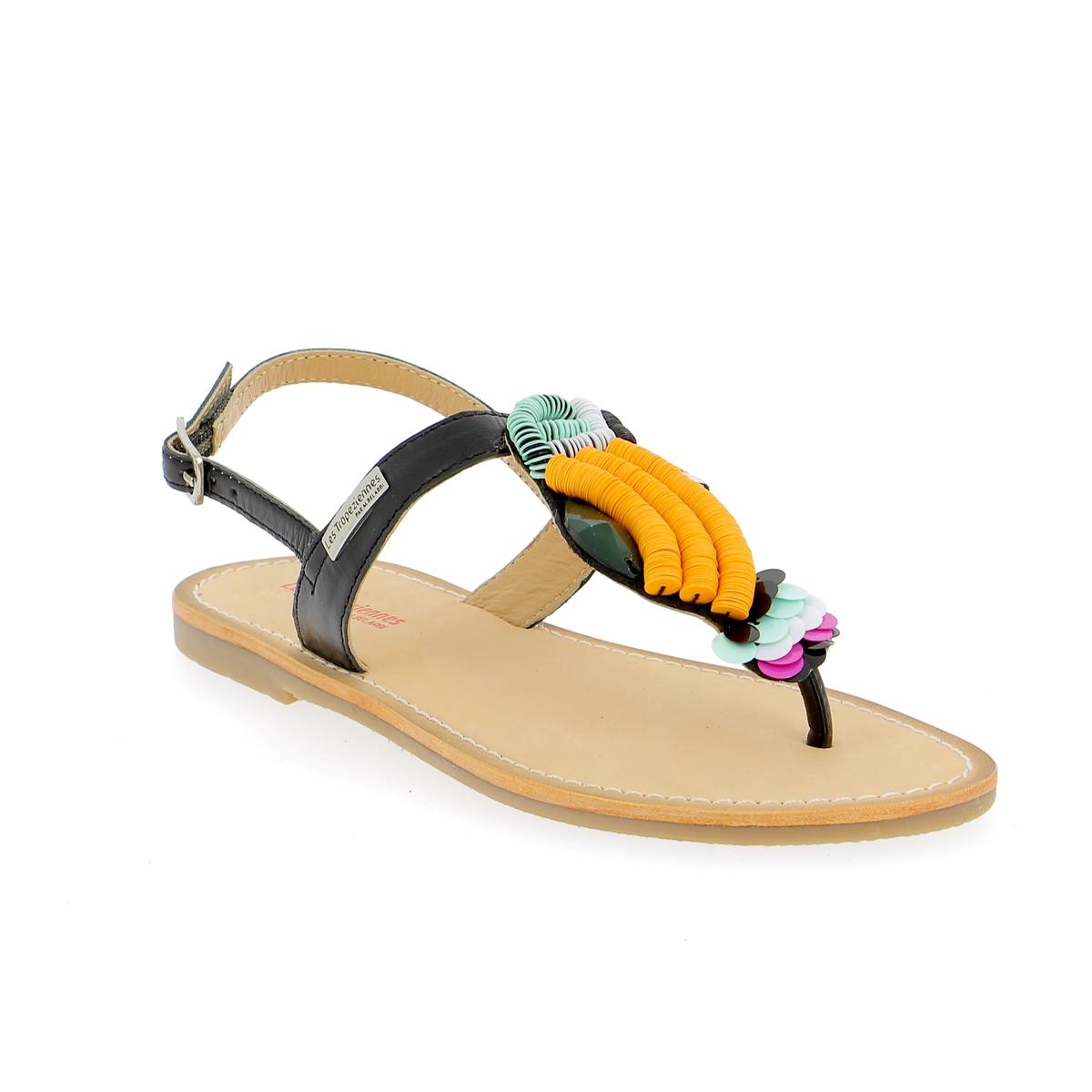 Tropezienne Sandalen zwart