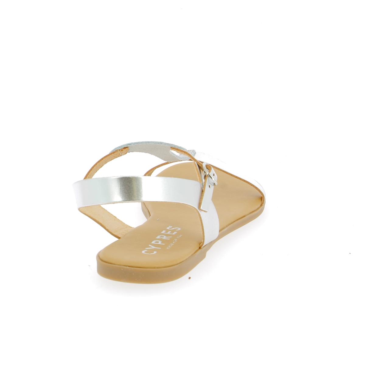 Cypres Sandales argent