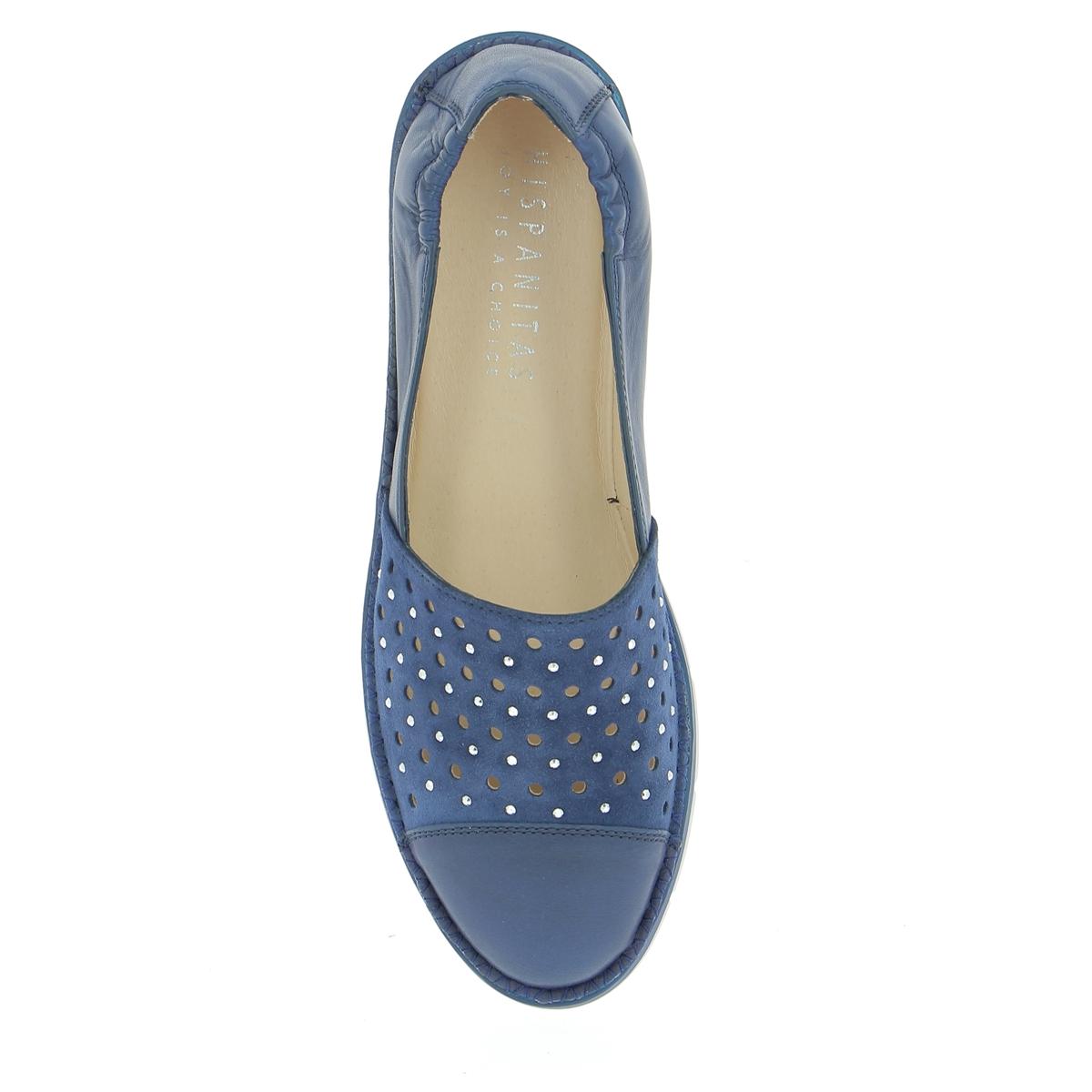 Hispanitas Ballerines bleu