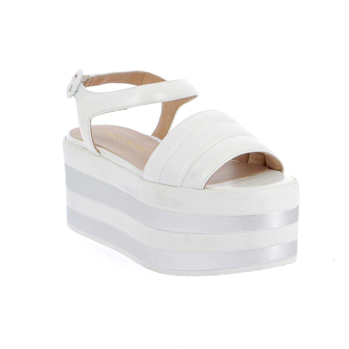 Three6five Sandales blanc