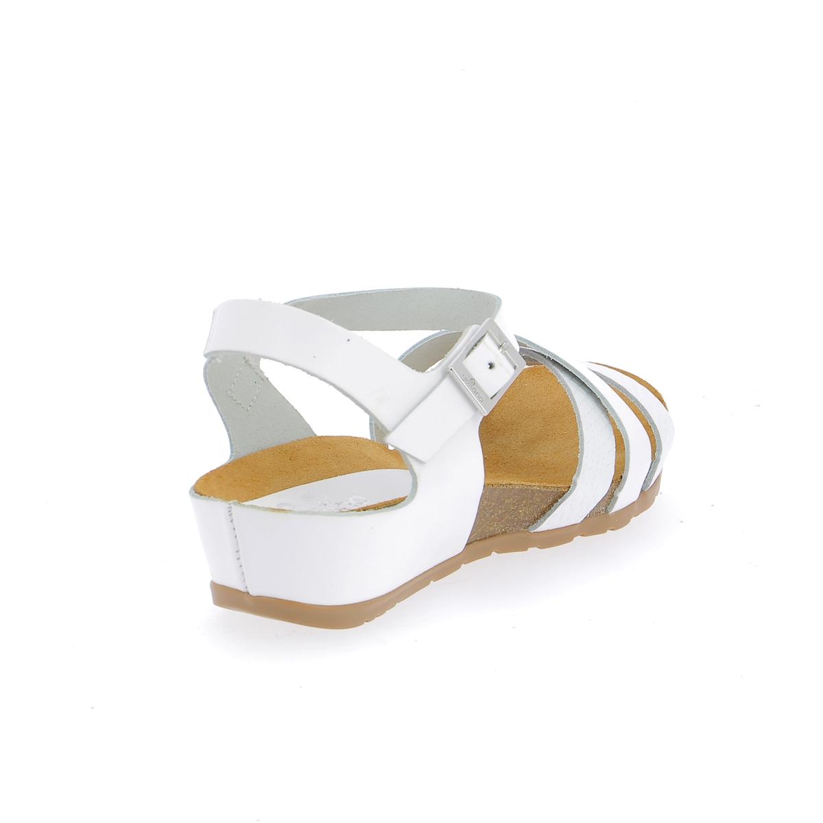 Yokono Sandalen wit