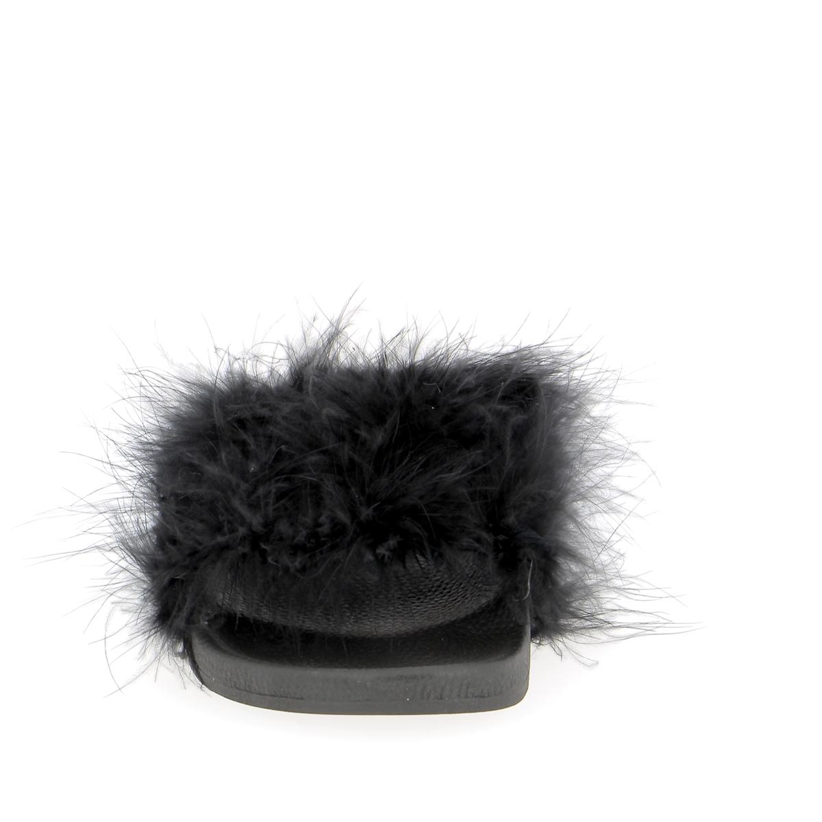 White Brand Mulles noir