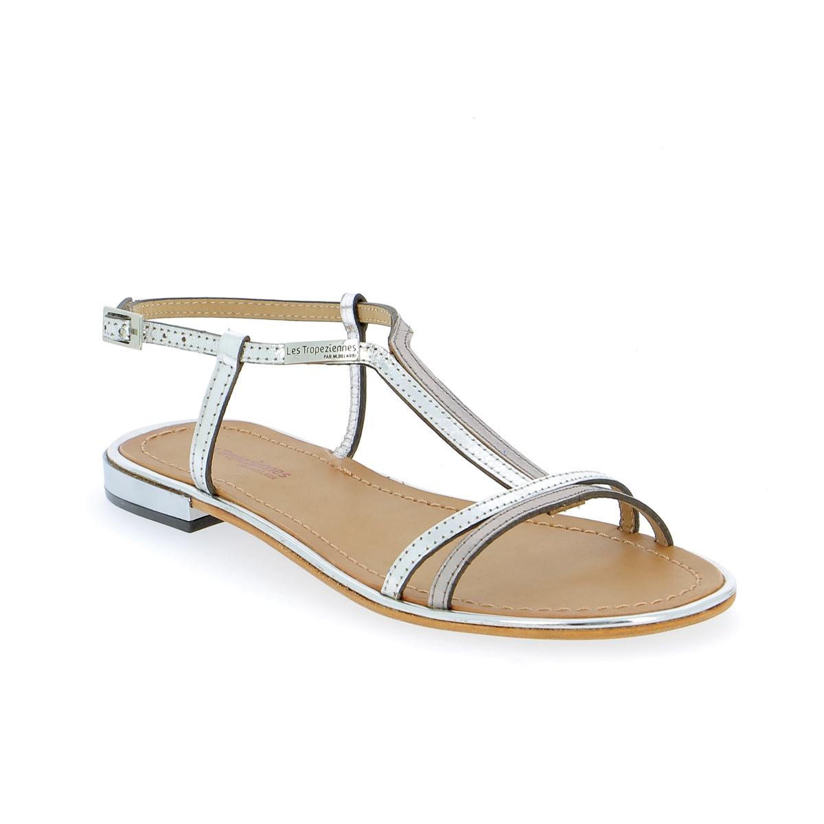 Tropezienne Sandalen zilver
