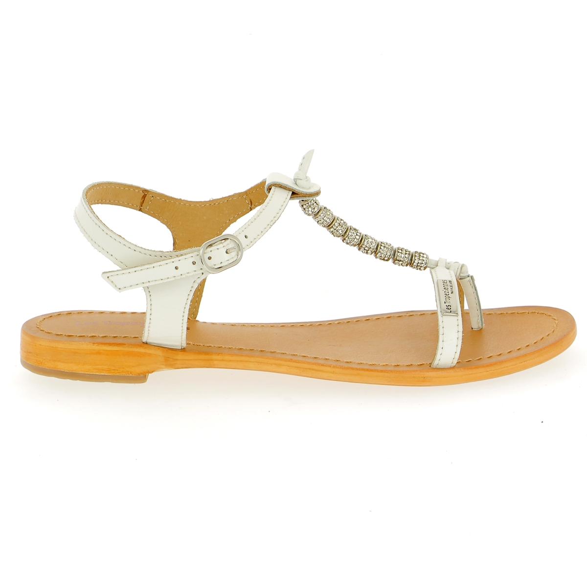 Tropezienne Sandalen wit