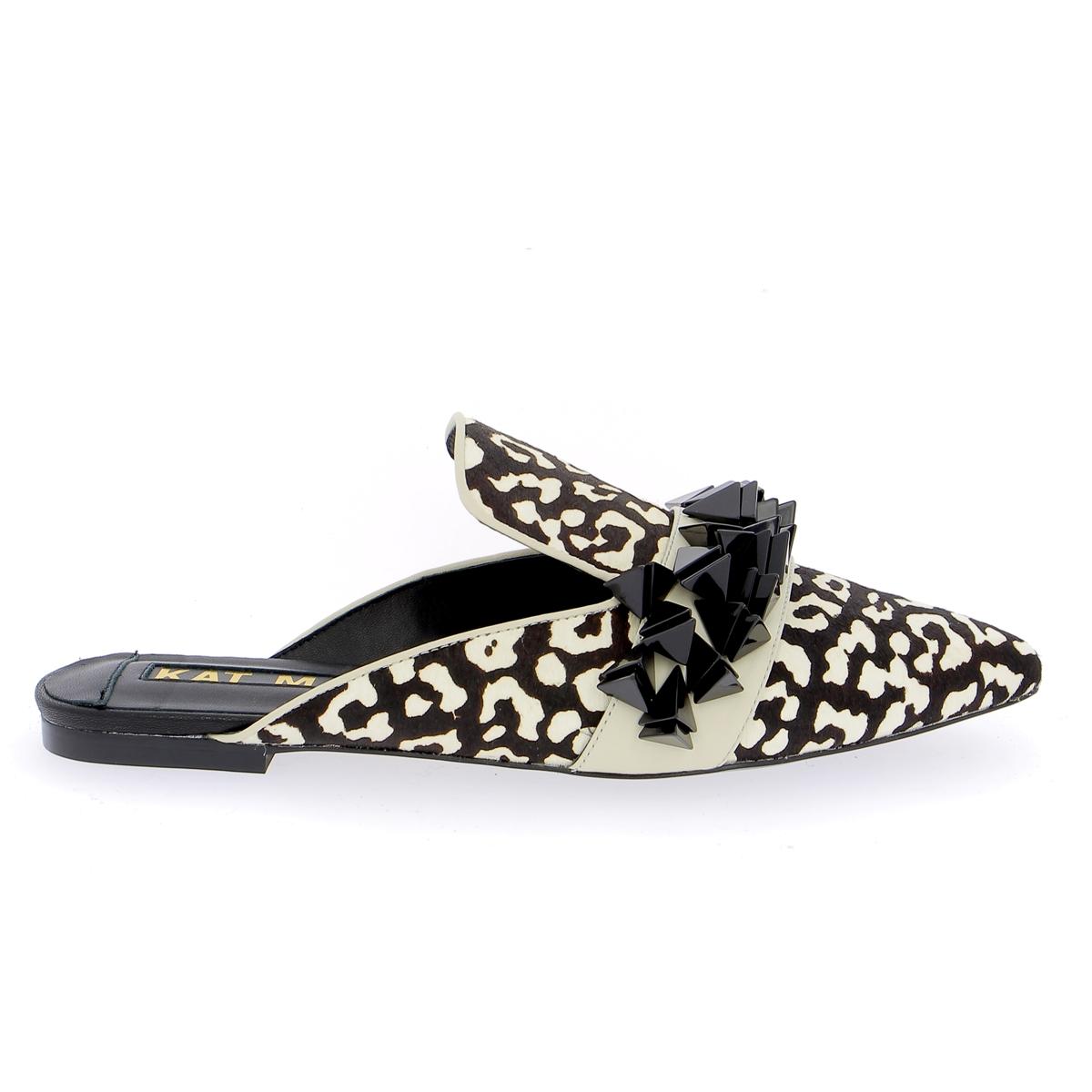 Kat Maconie Muiltjes - slippers zwart