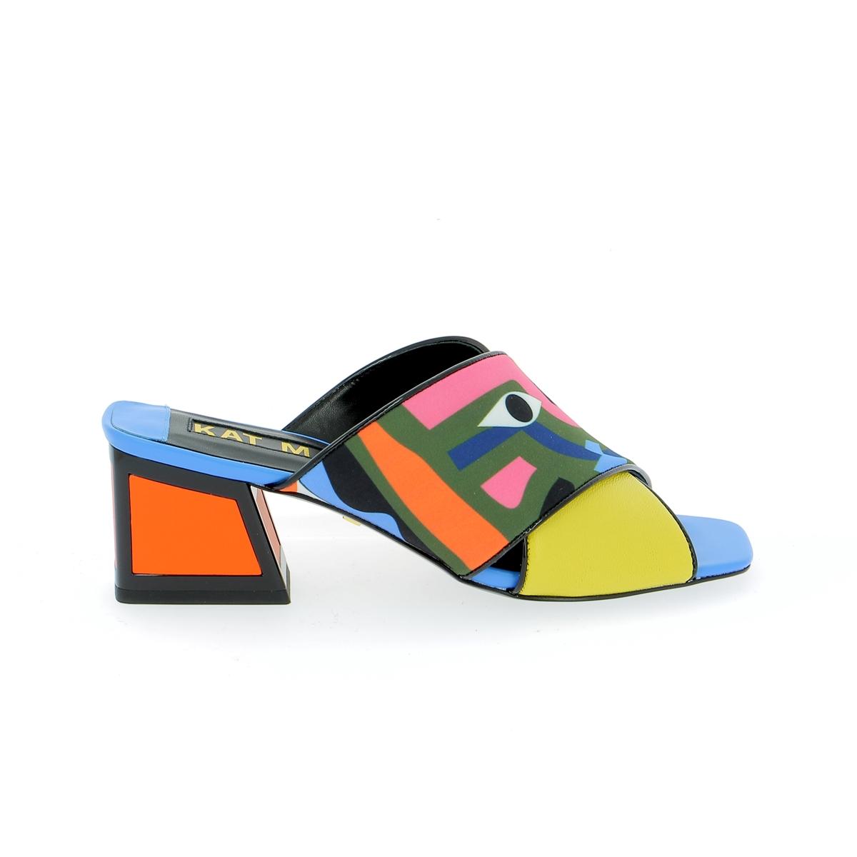 Kat Maconie Muiltjes - slippers blauw