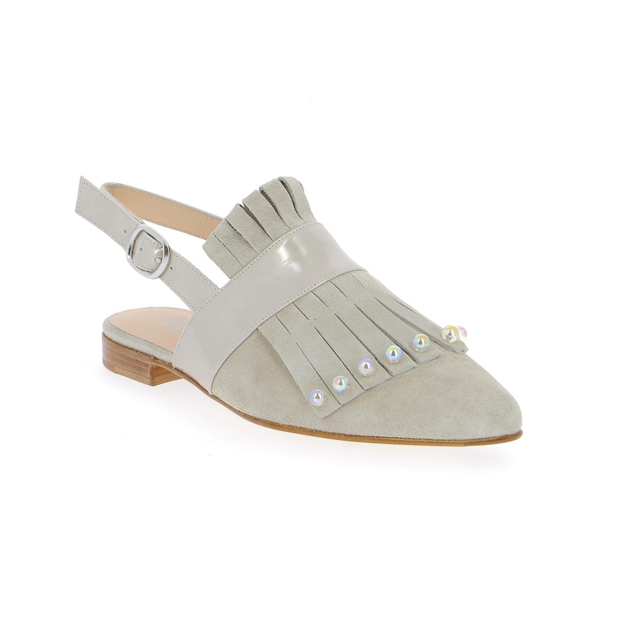 Pertini Muiltjes - slippers taupe