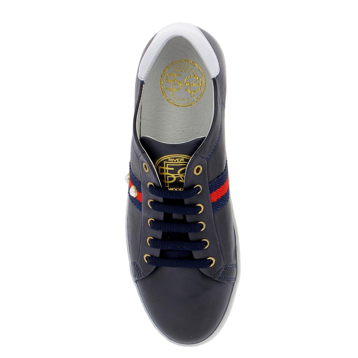 River Wood Sneakers blauw