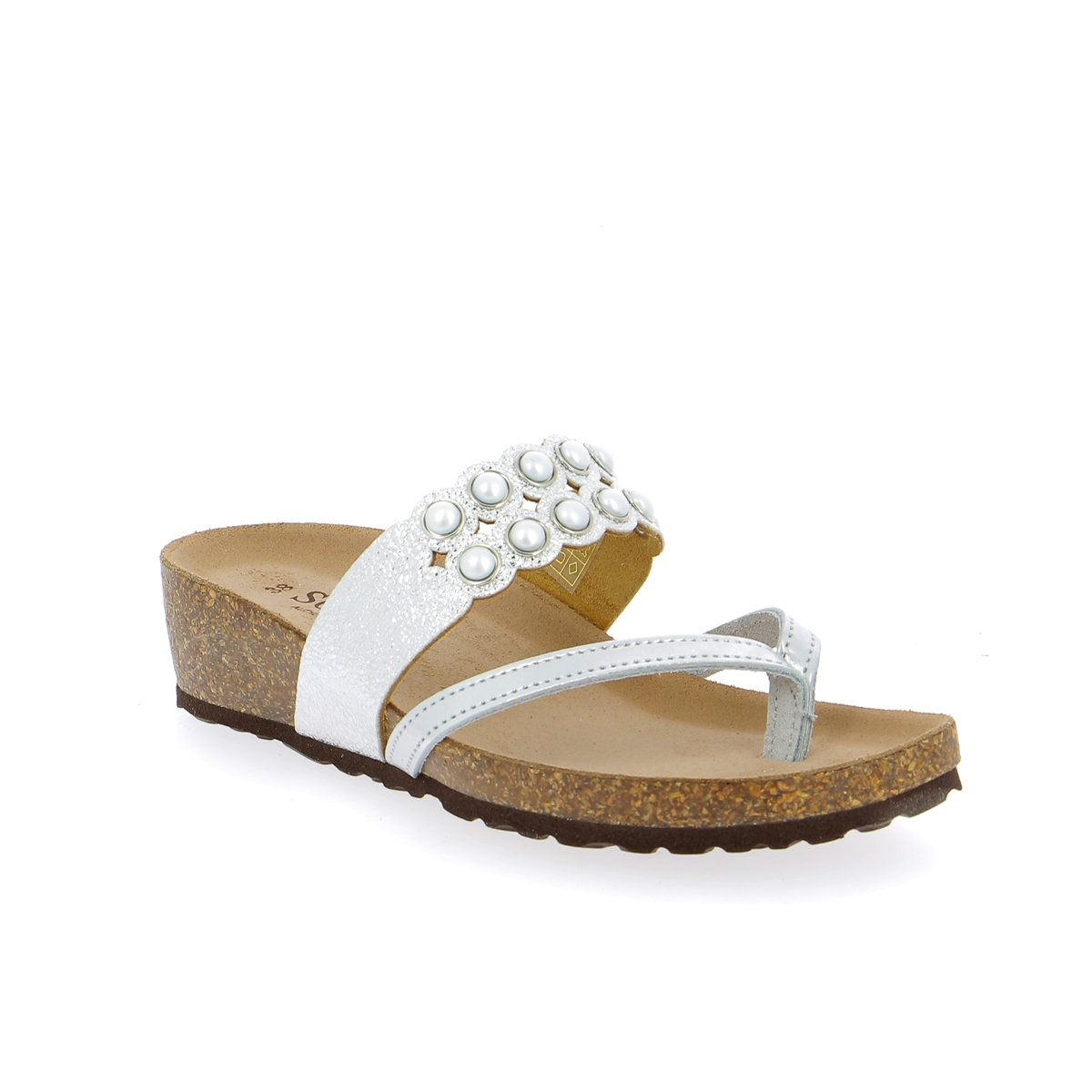 Scapa Muiltjes - slippers zilver