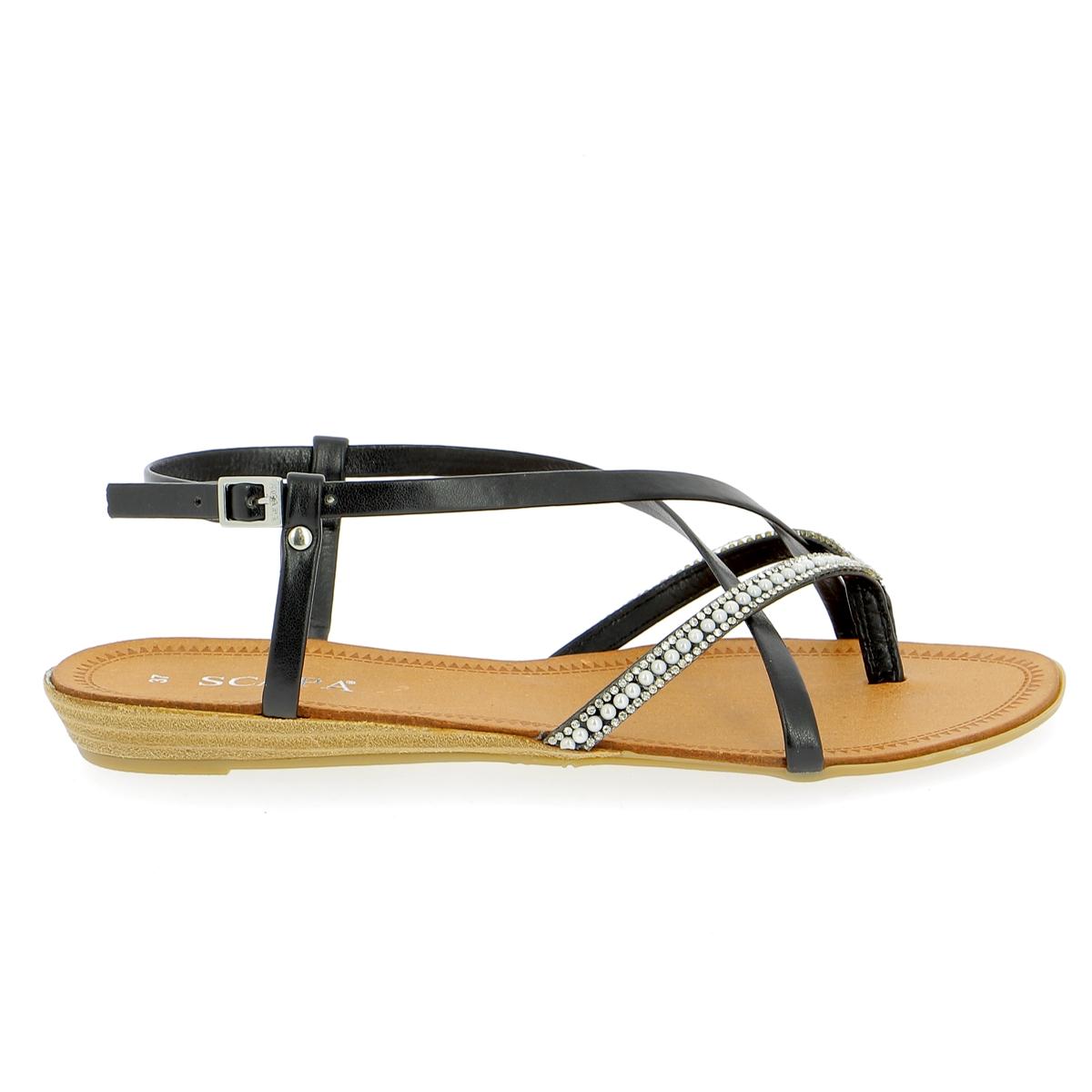 Scapa Sandalen zwart
