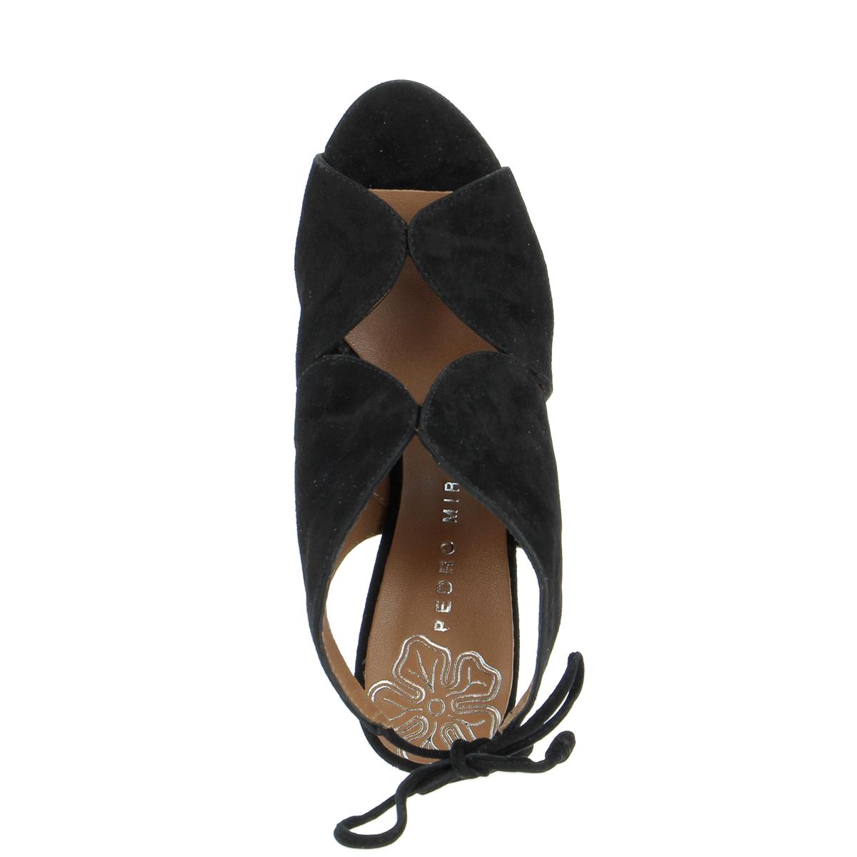 Miralles Sandalen zwart