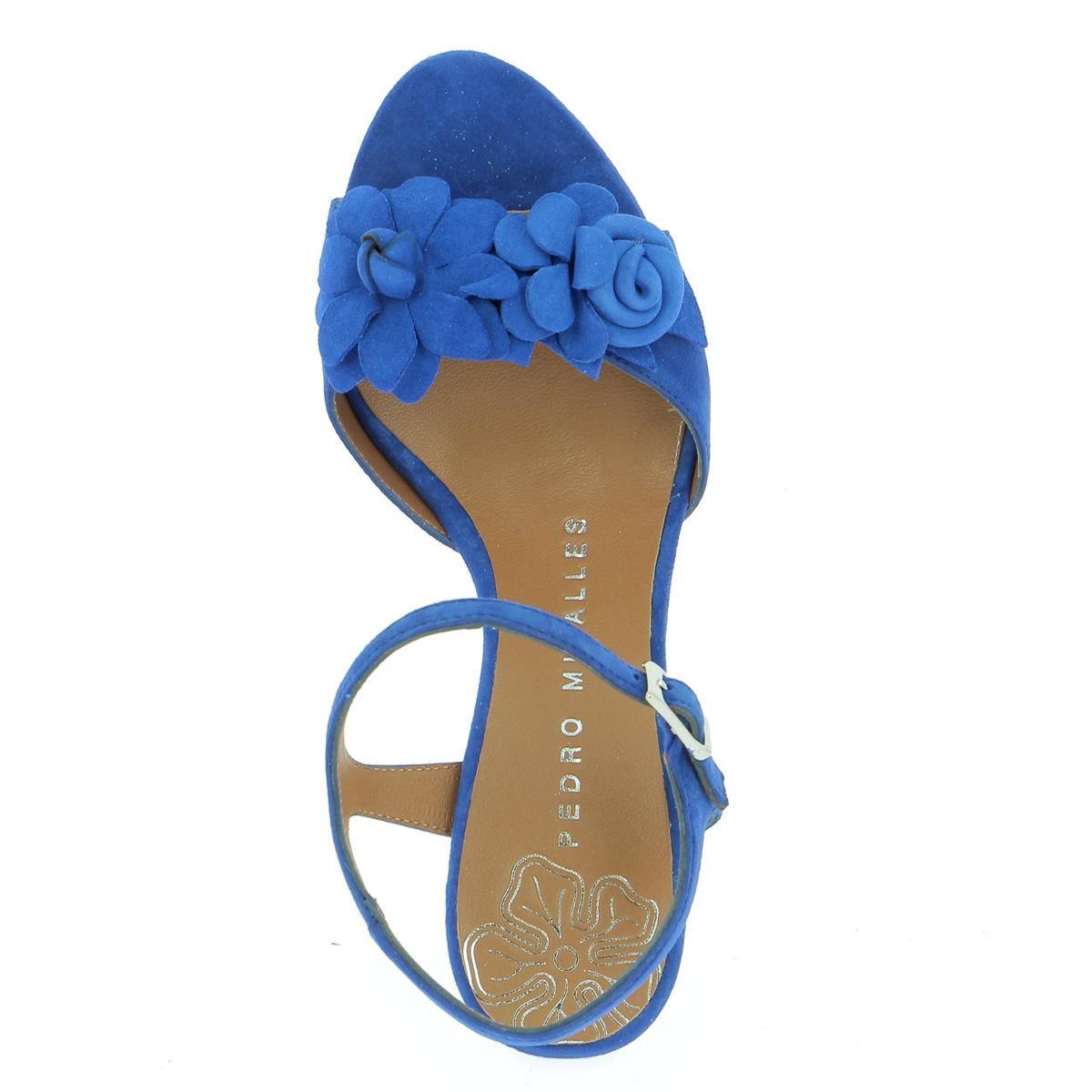 Miralles Sandales bleu