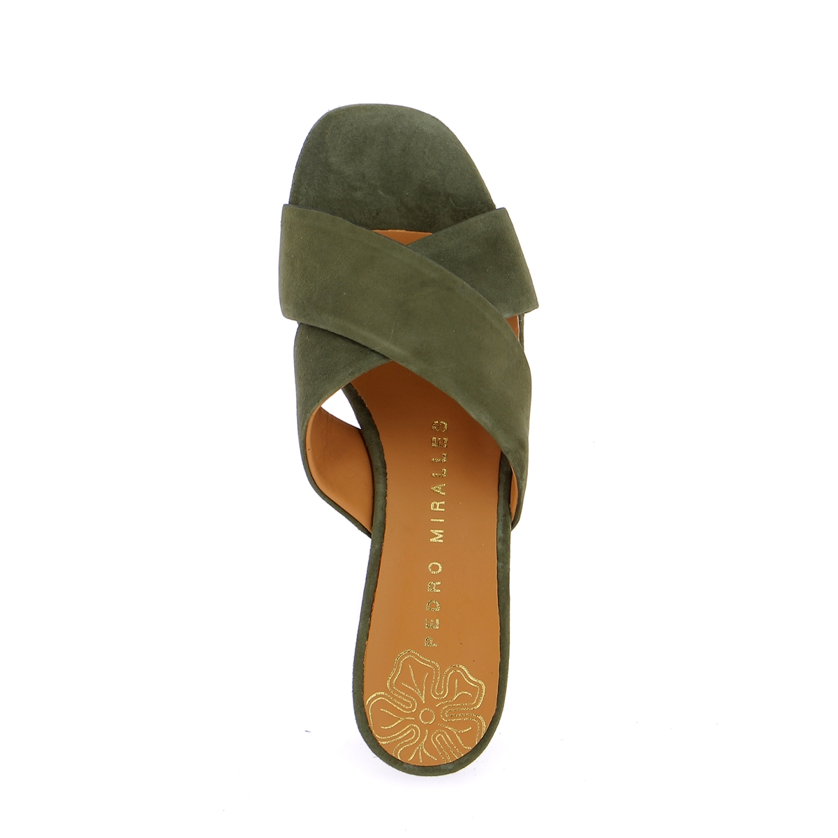 Miralles Muiltjes - slippers kaki