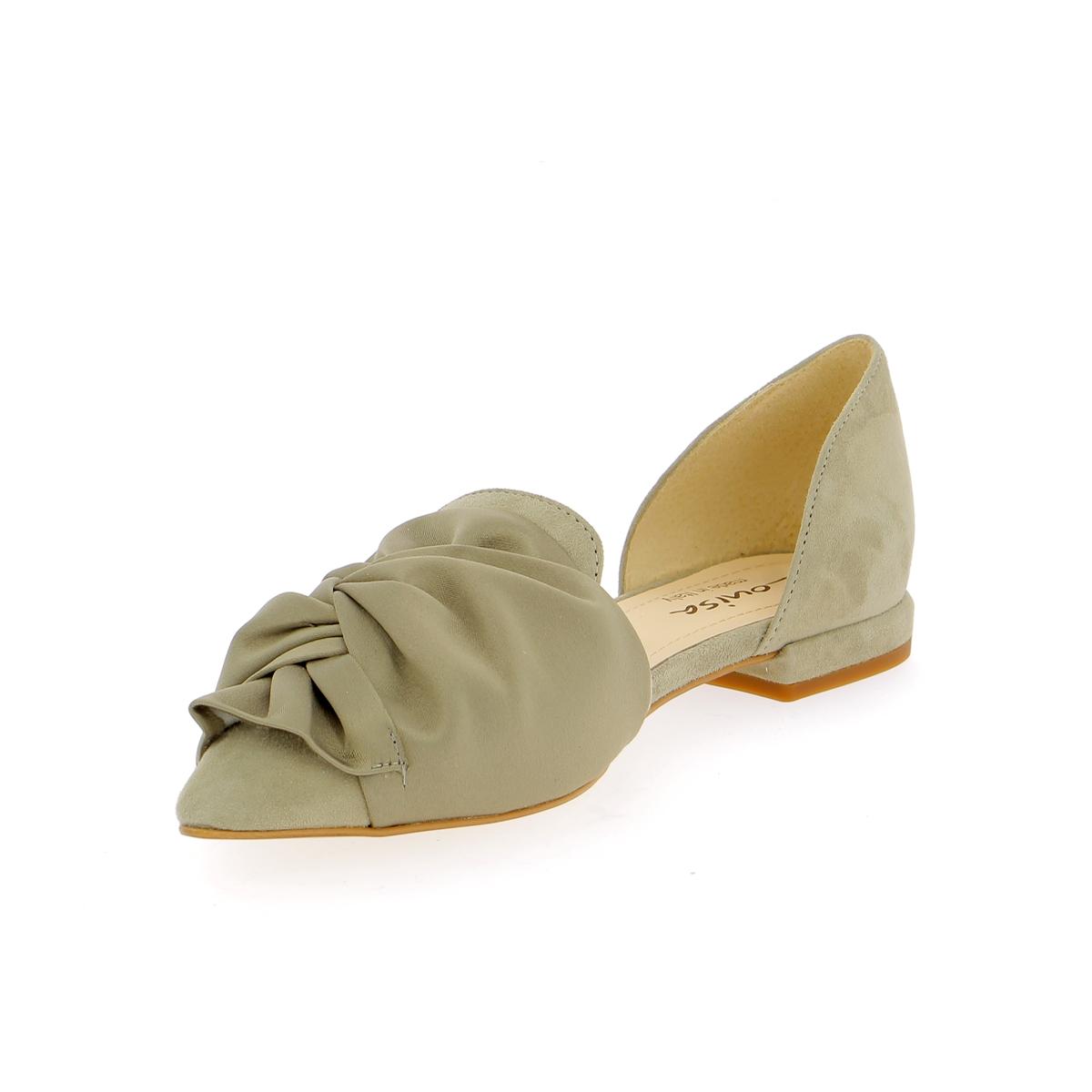 Louisa Ballerines kaki