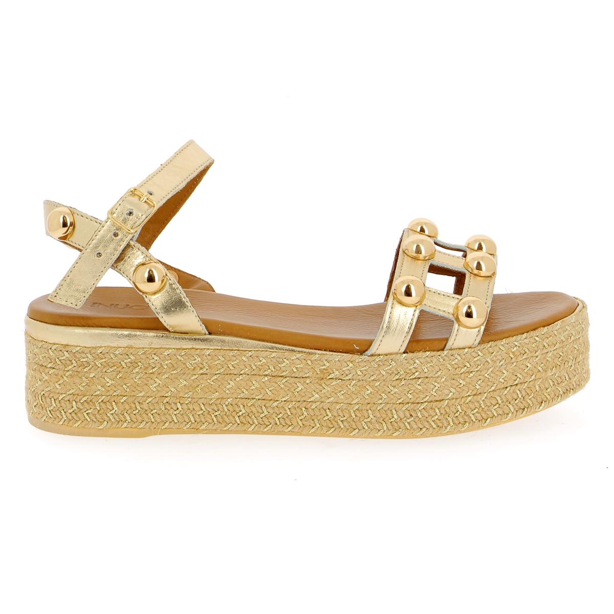 Inuovo Sandalen goud