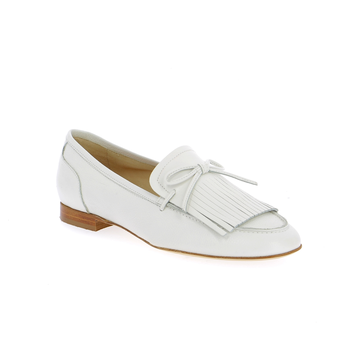Luca Grossi Moccassins blanc