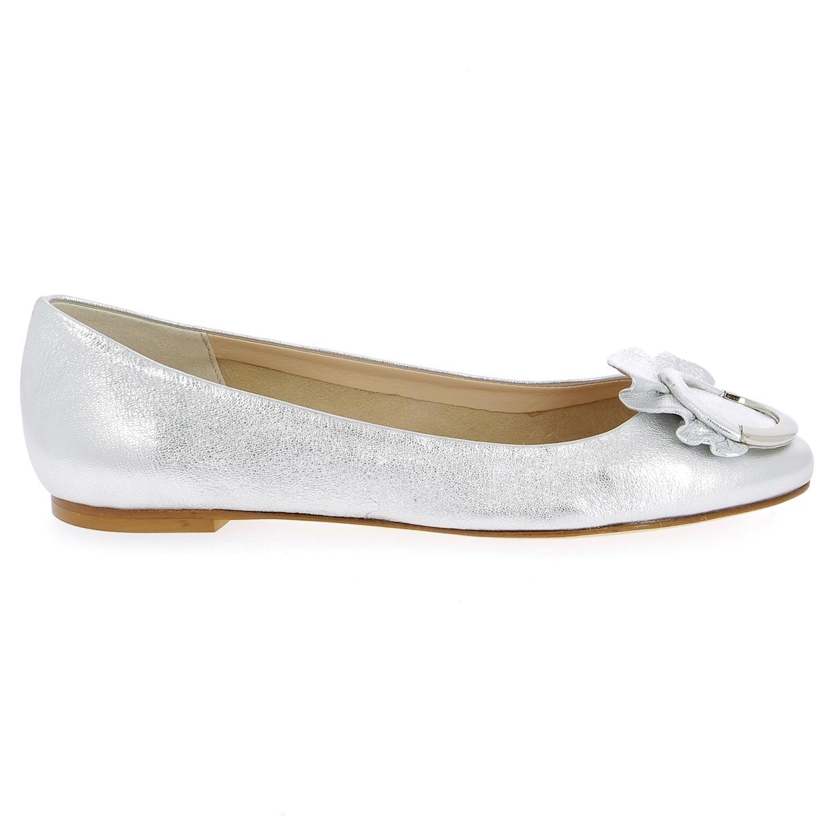 Delaere Ballerinas zilver