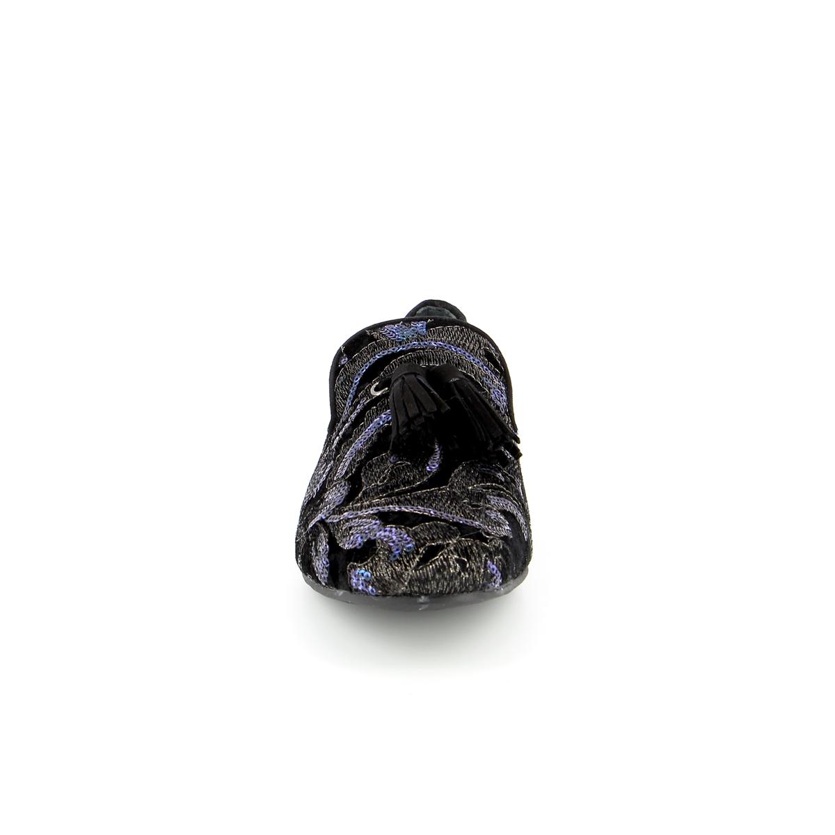 Miralles Instappers - instapschoenen zwart