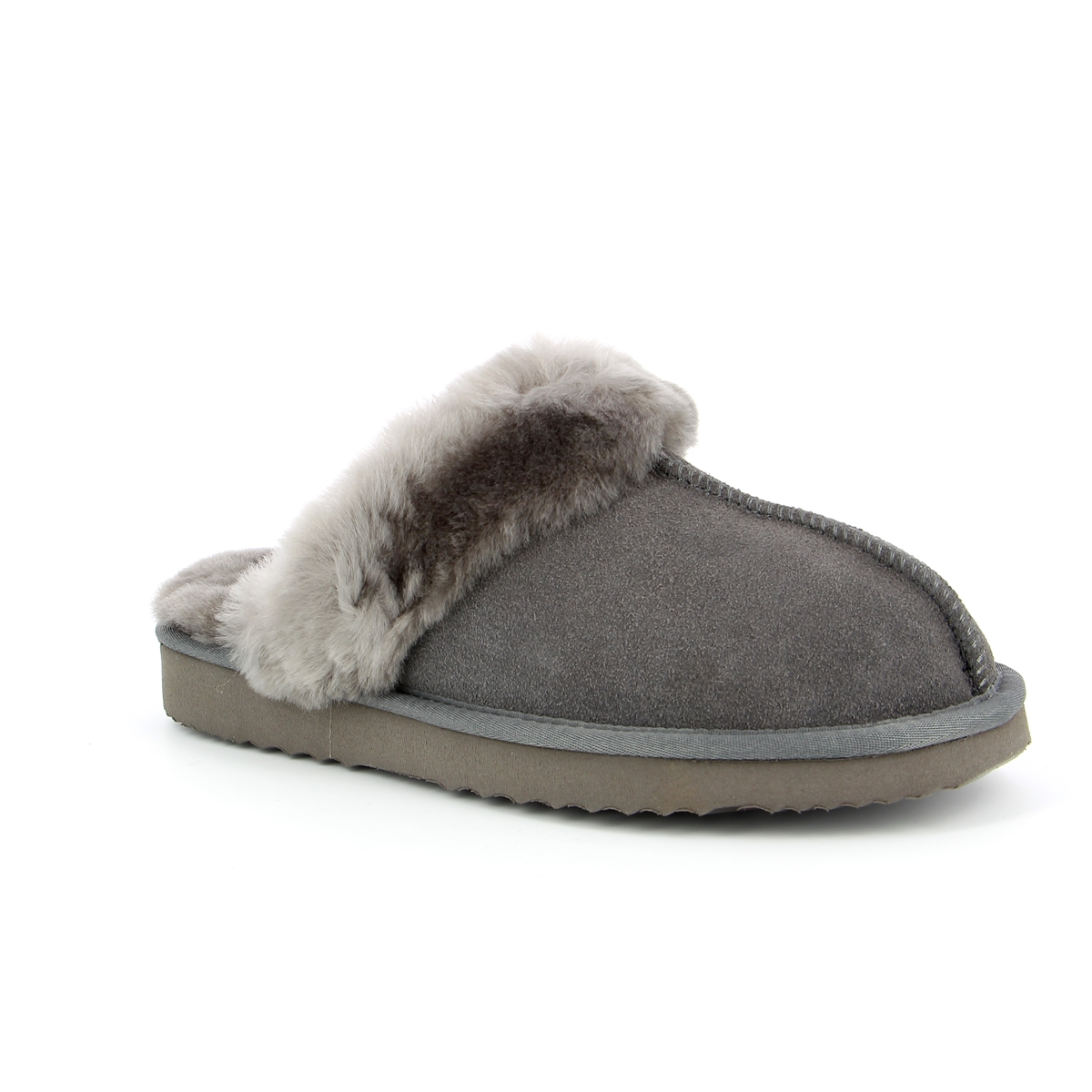 Cypres Pantoffels grijs