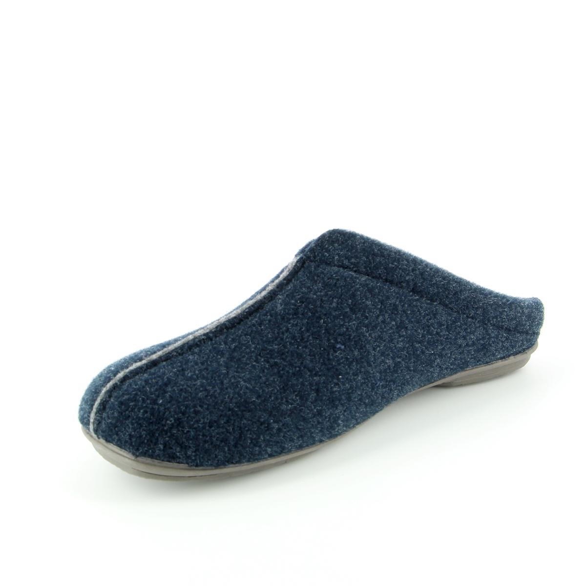 Cypres Pantoufles bleu