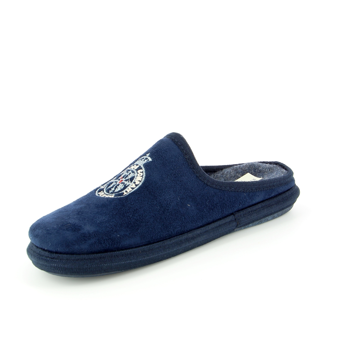 River Wood Pantoffels blauw