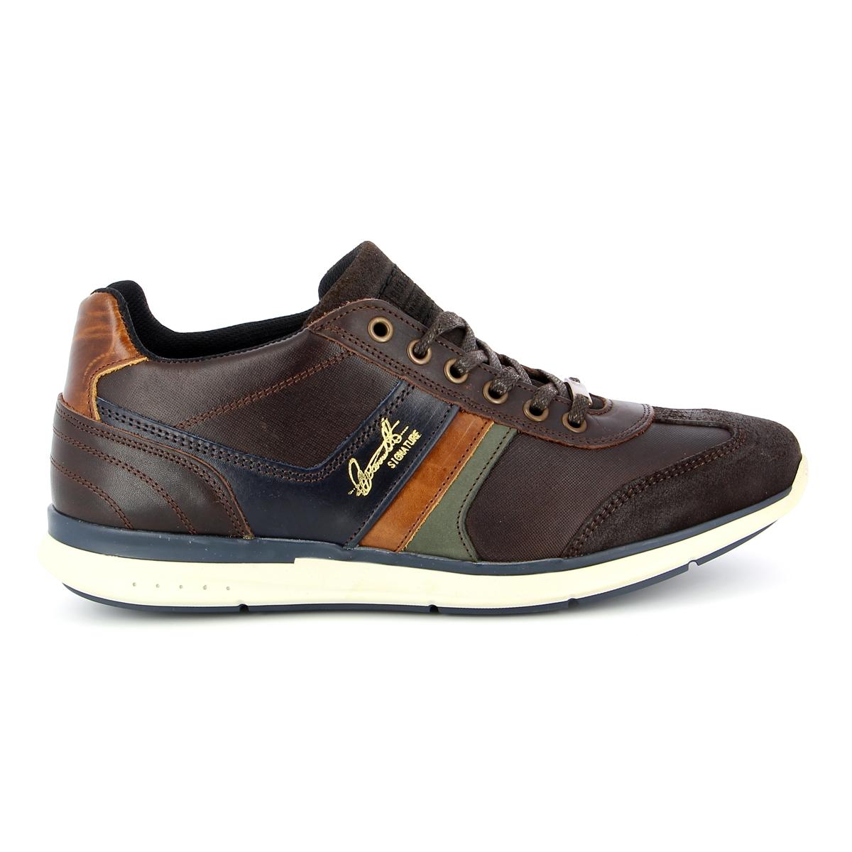 Bullboxer Sneakers bruin