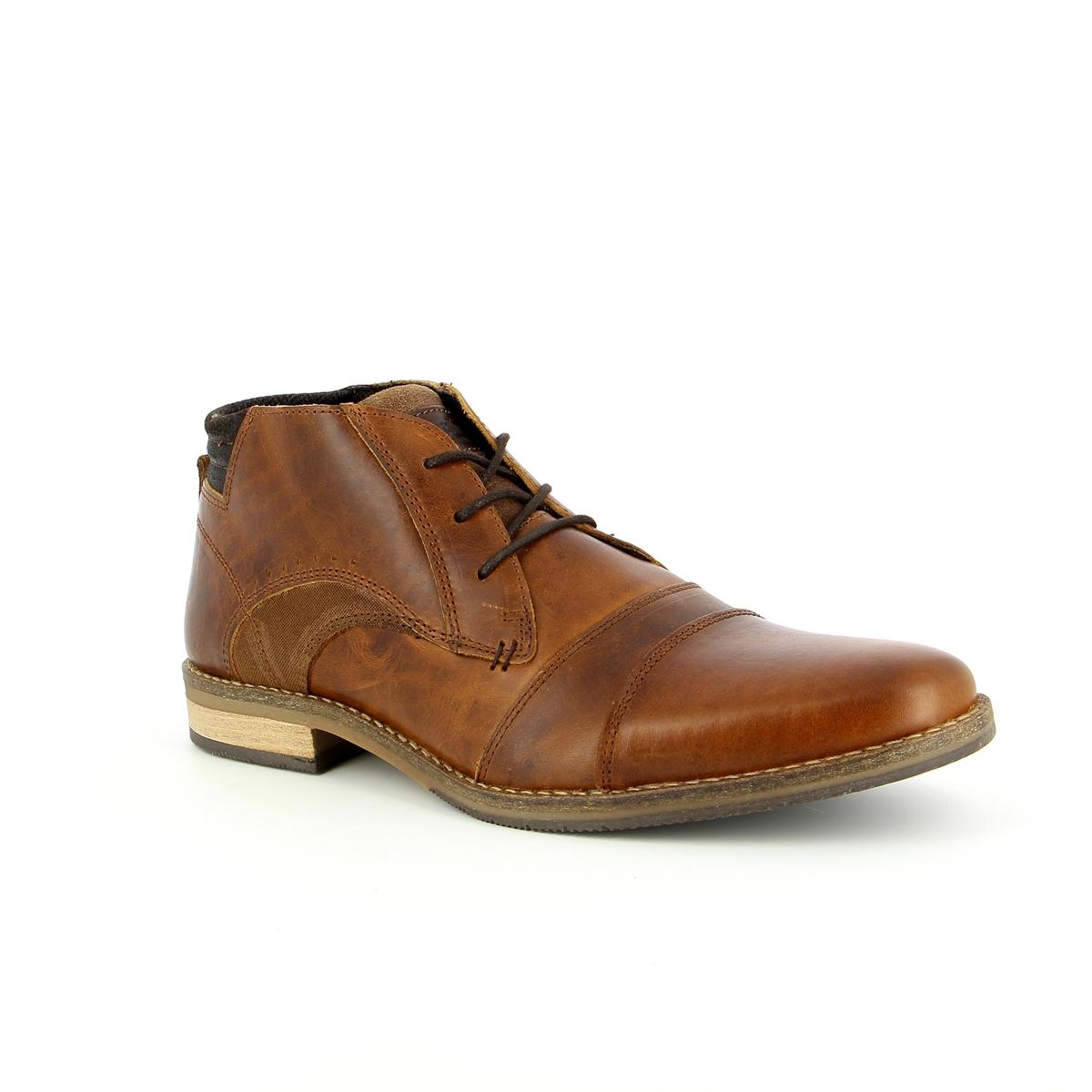 Bullboxer Boots cognac