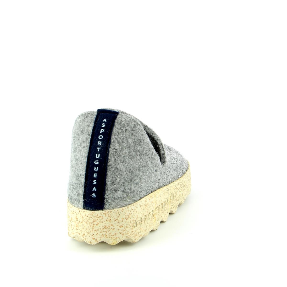 Asportuguesas Pantoffels grijs