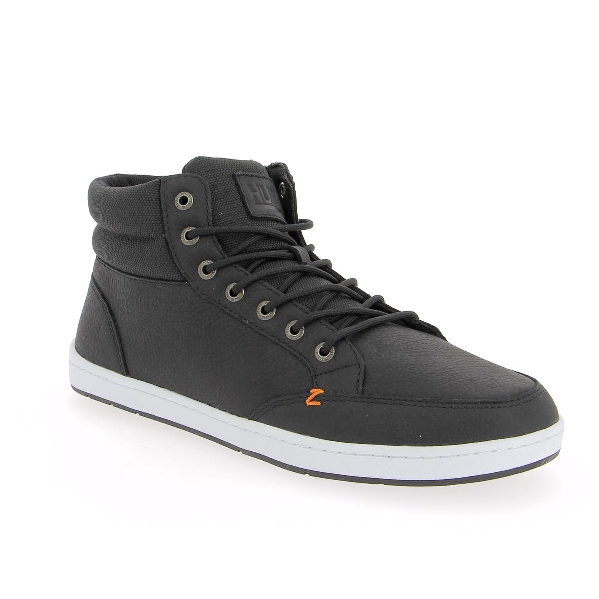 Hub Sneakers zwart