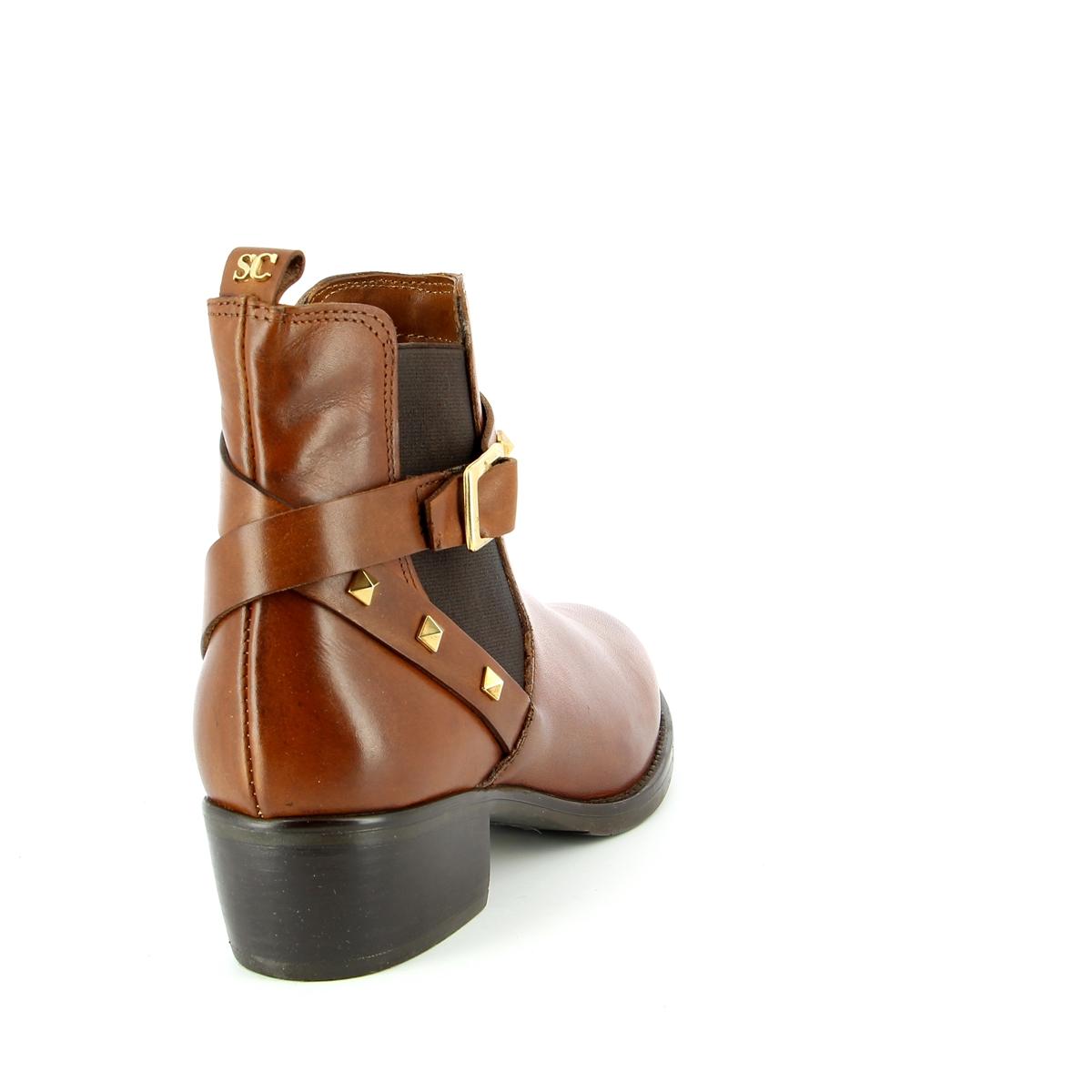 Scapa Boots cognac