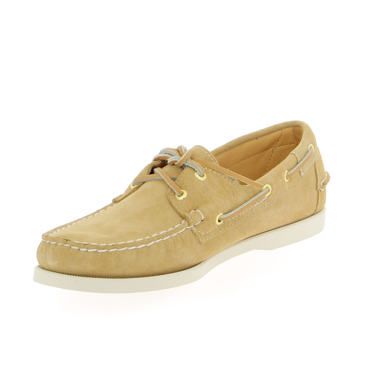 Sebago Bootschoenen beige
