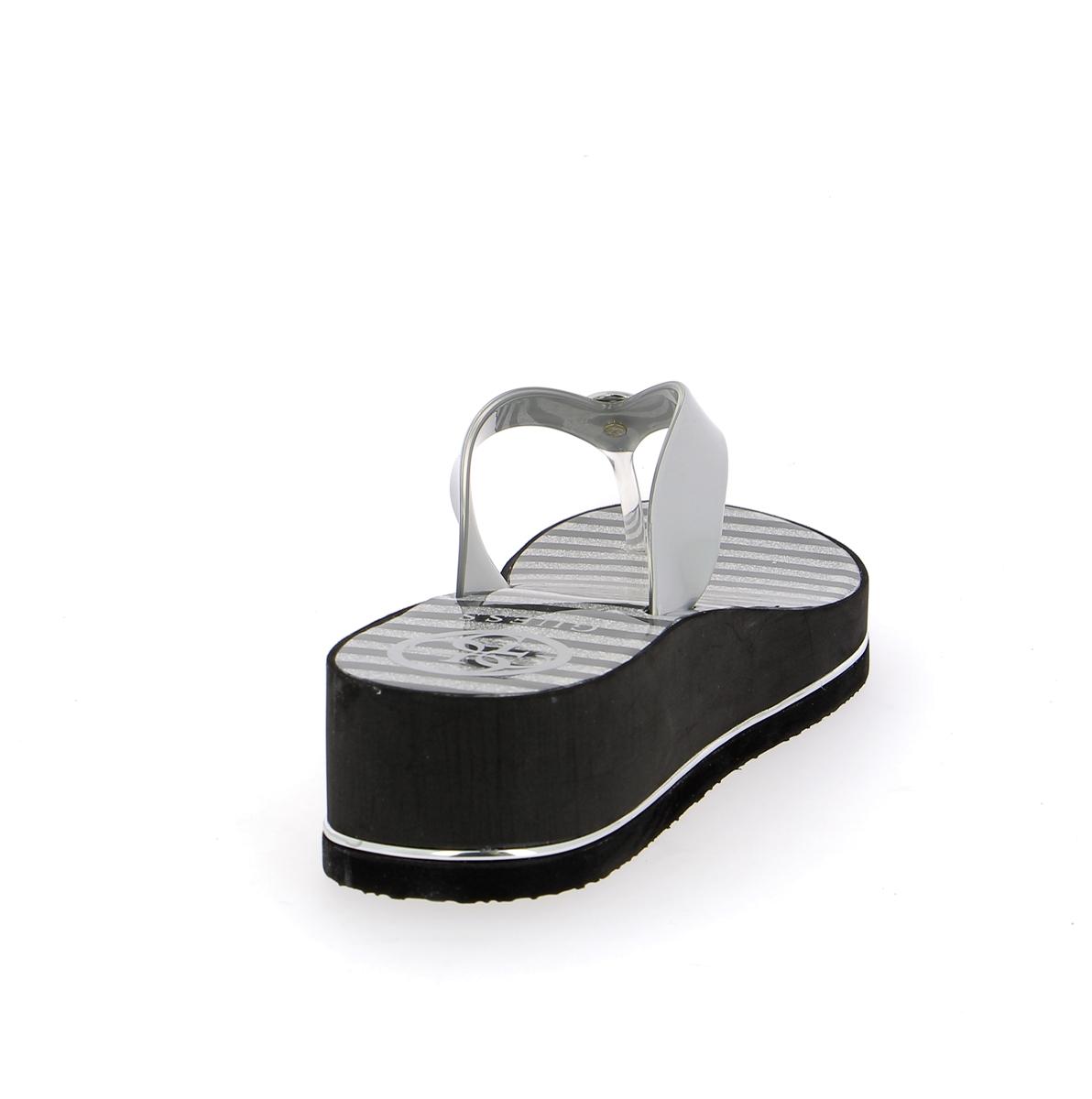 Guess Muiltjes - slippers zilver