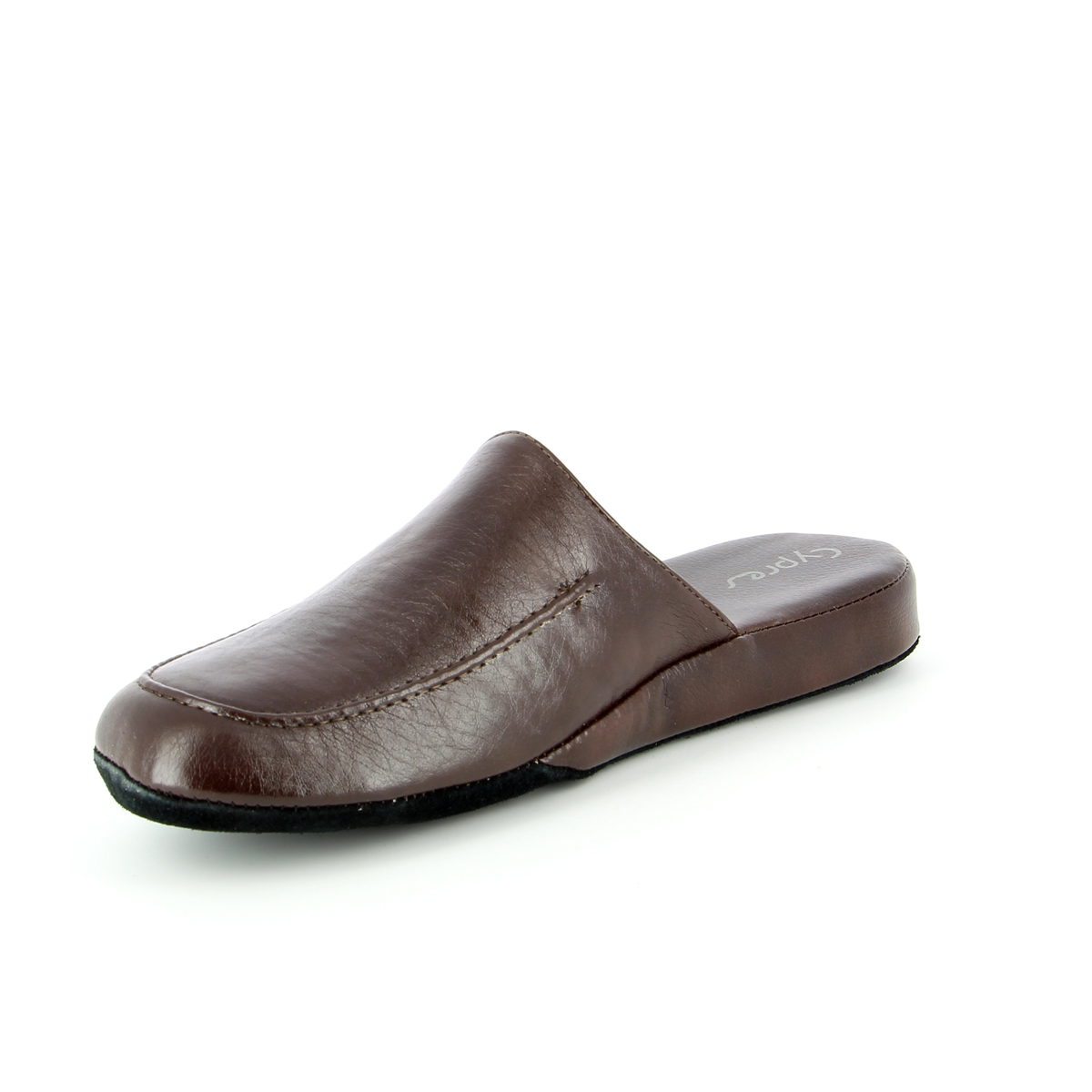 Cypres Pantoffels bruin