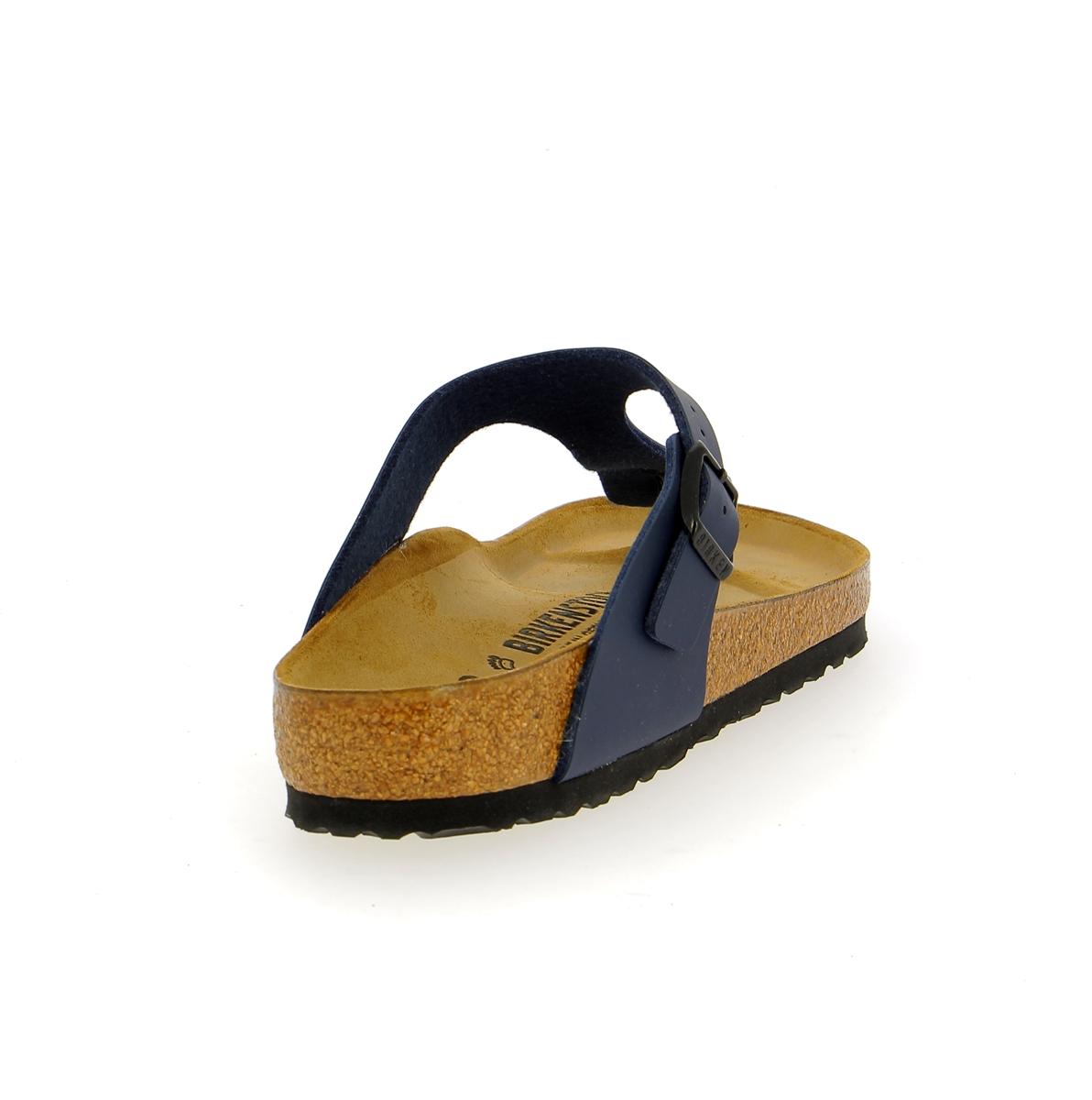 Birkenstock Muiltjes - slippers blauw
