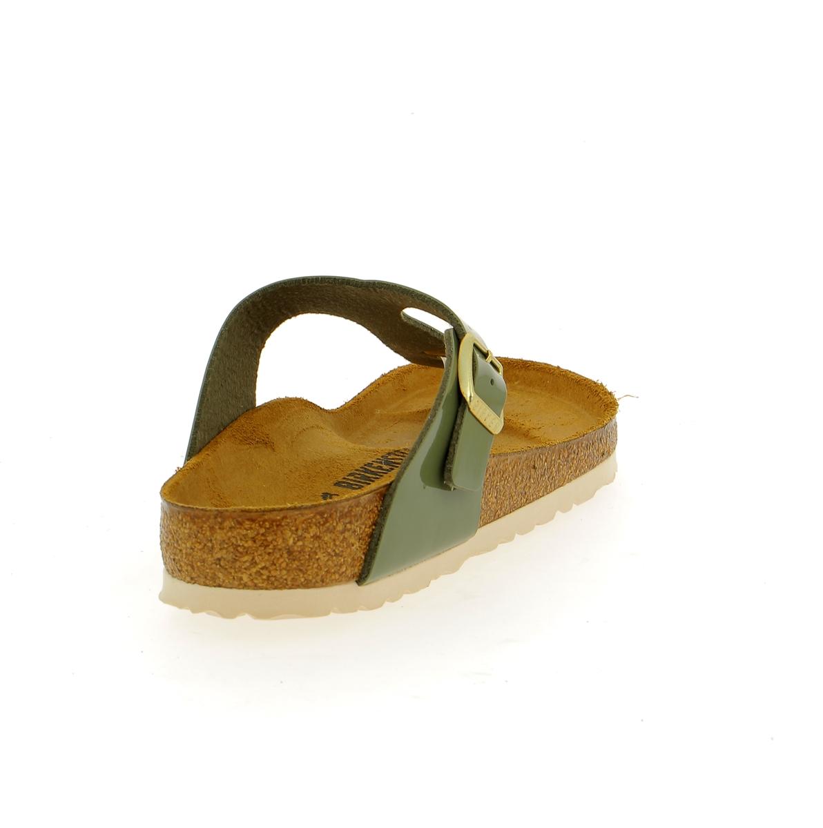 Birkenstock Muiltjes - slippers groen