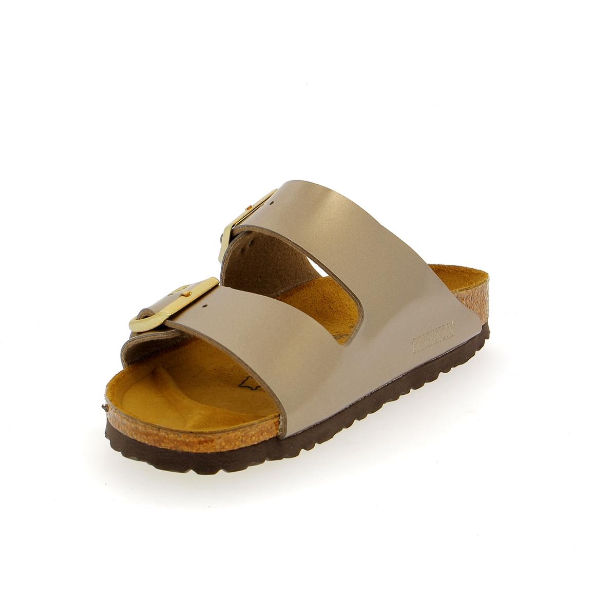 Birkenstock Muiltjes - slippers platinum