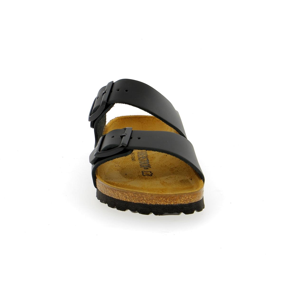 Birkenstock Muiltjes - slippers zwart