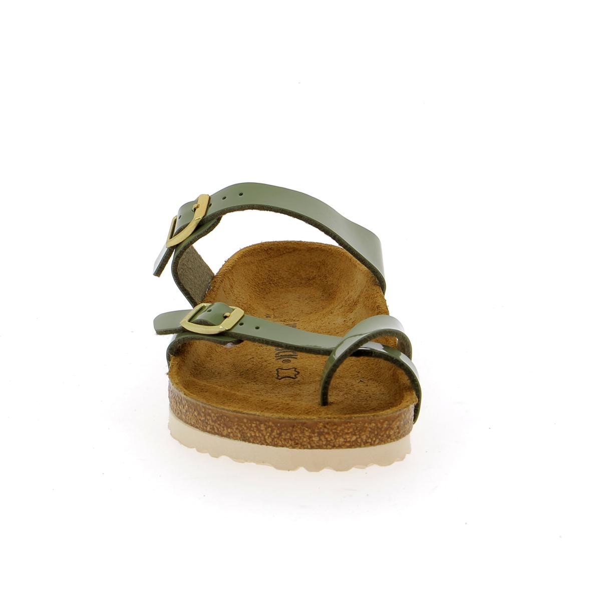 Birkenstock Muiltjes - slippers kaki