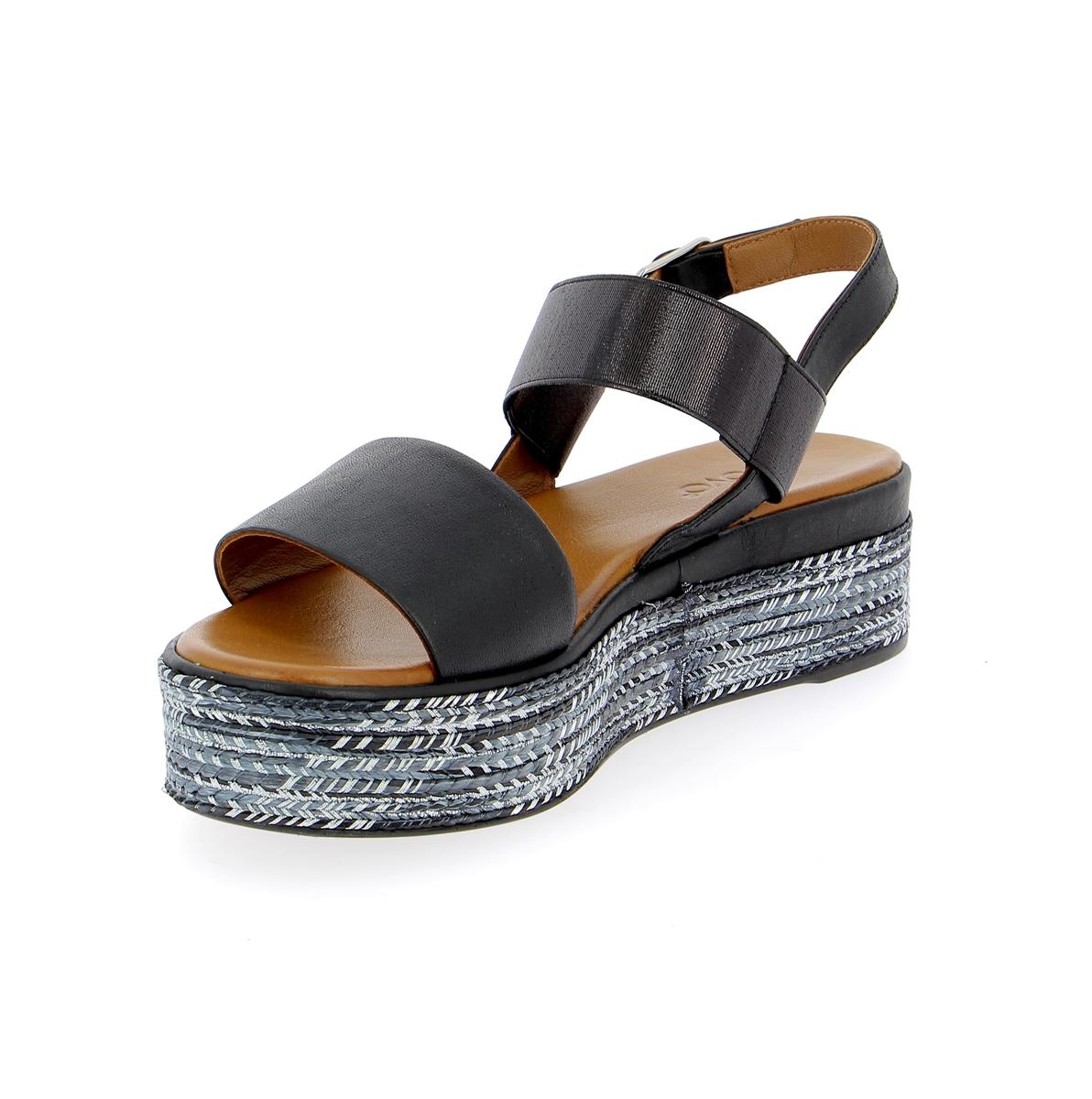 Inuovo Sandalen zwart