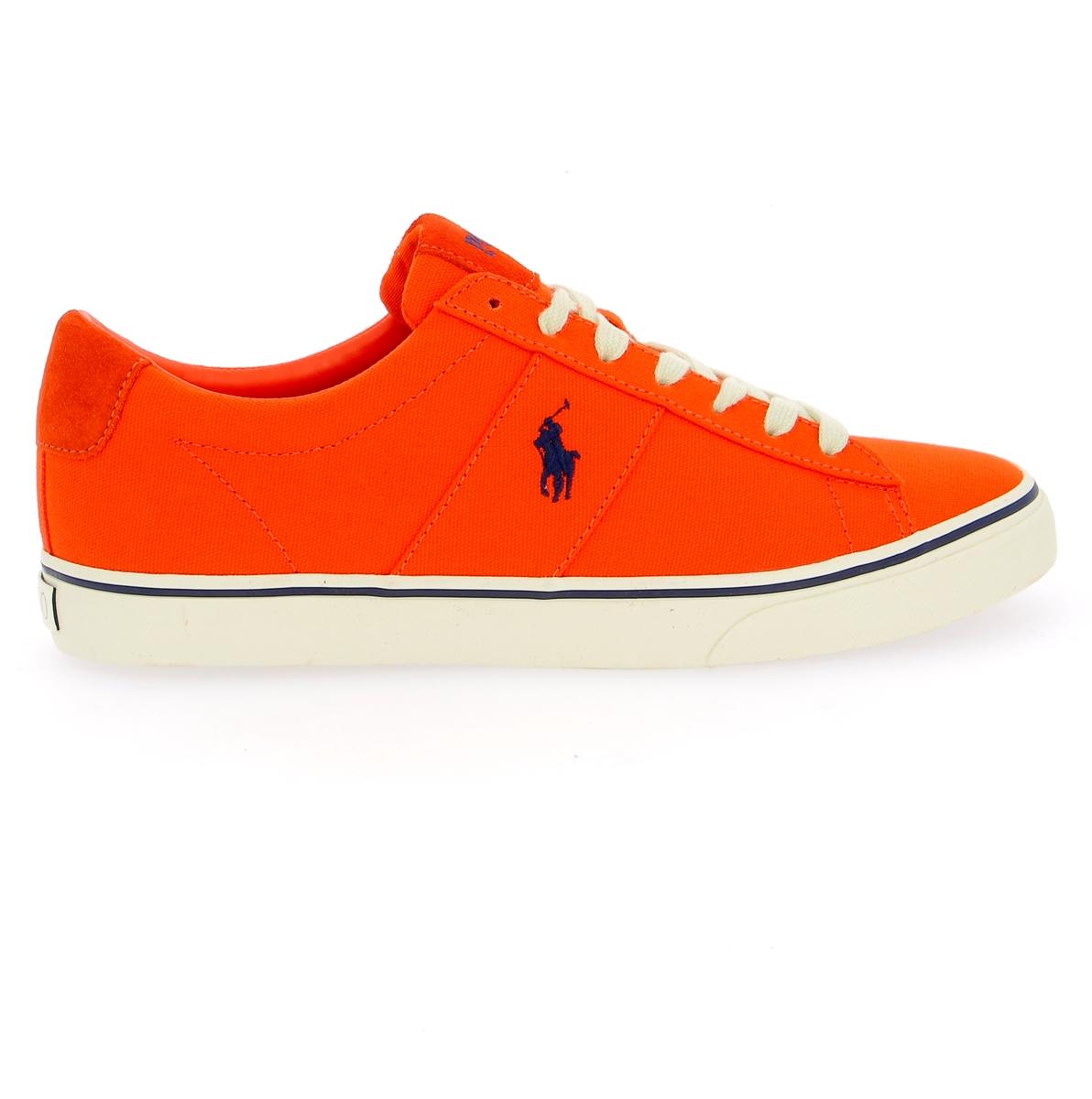 Ralph Lauren Sneakers oranje