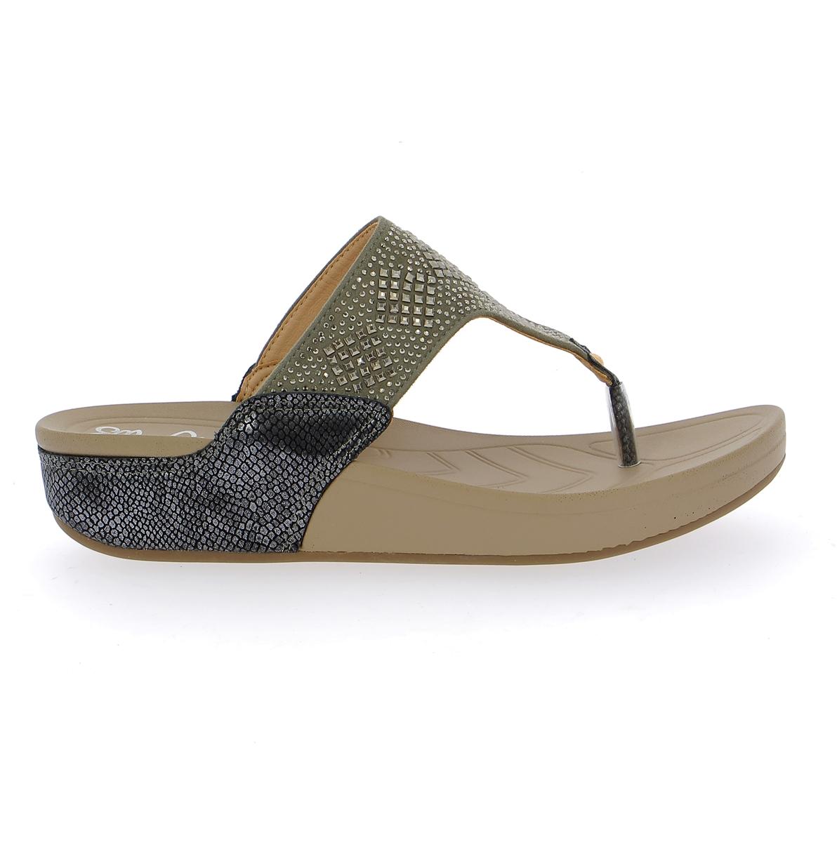 Cypres Muiltjes - slippers metaal