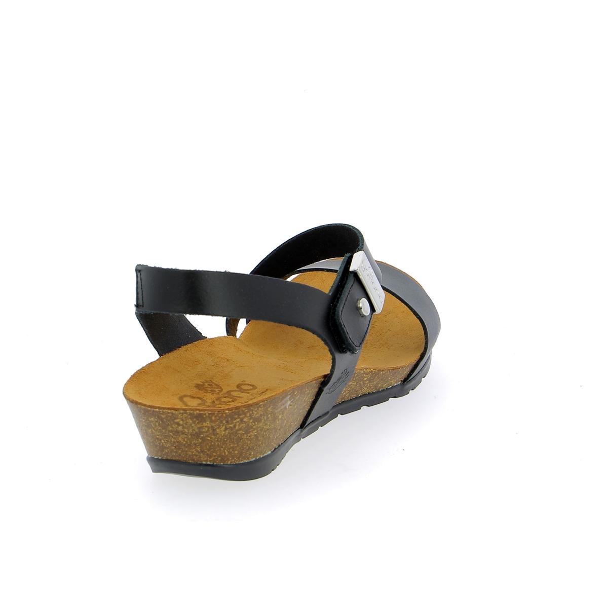 Yokono Sandalen zwart
