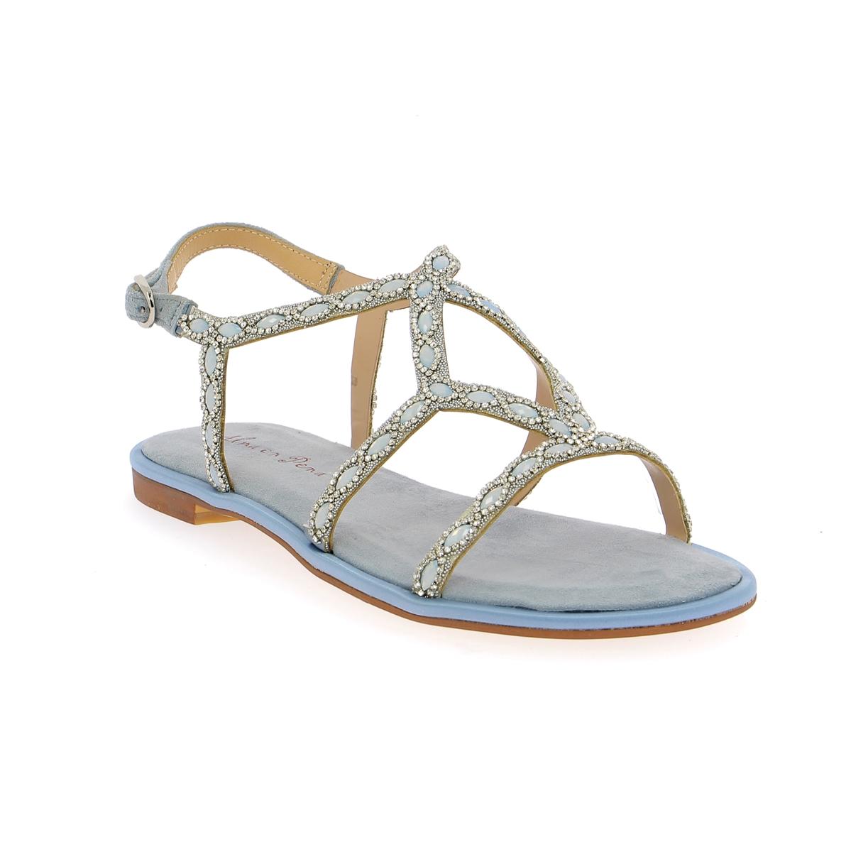 Alma En Pena Sandalen blauw