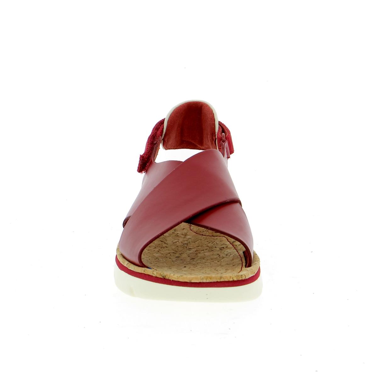 Camper Sandalen rood