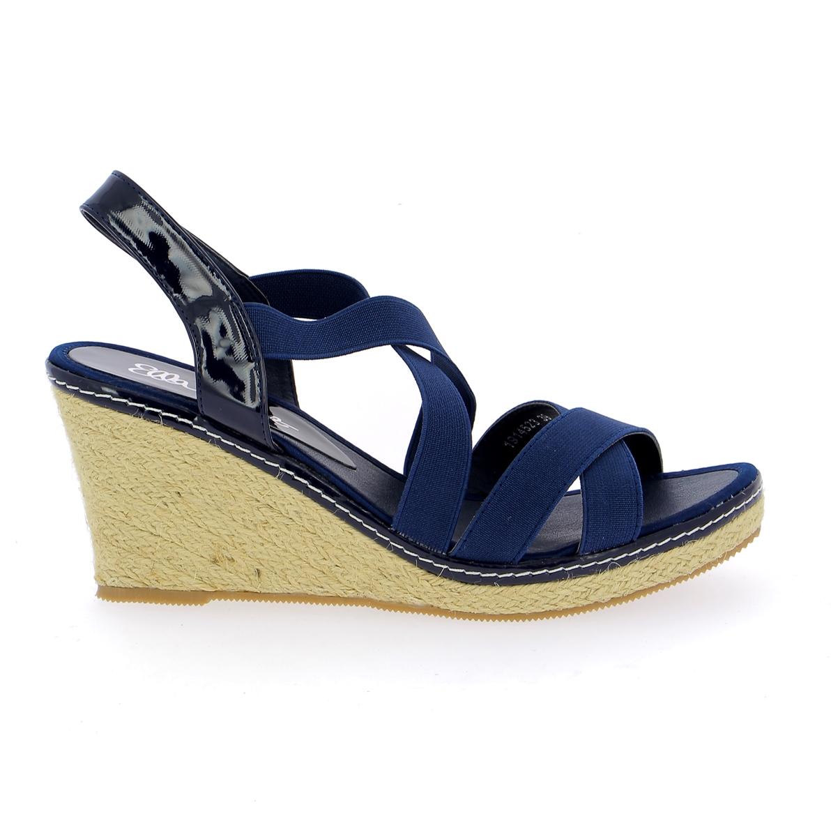Cypres Sandales bleu