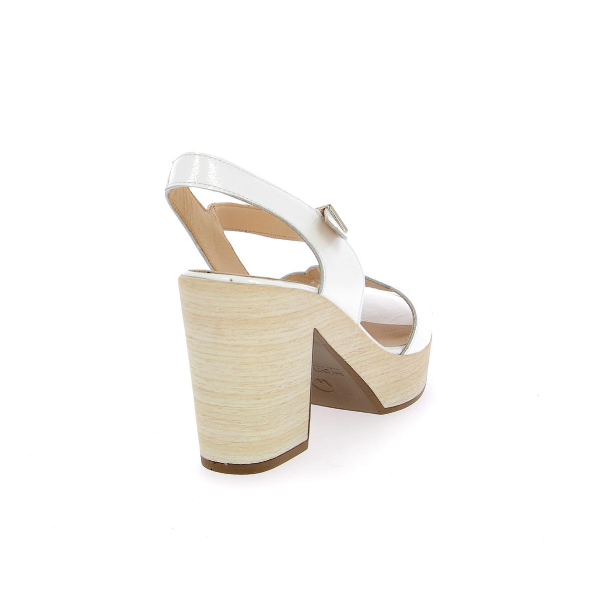 Wonders Sandales blanc