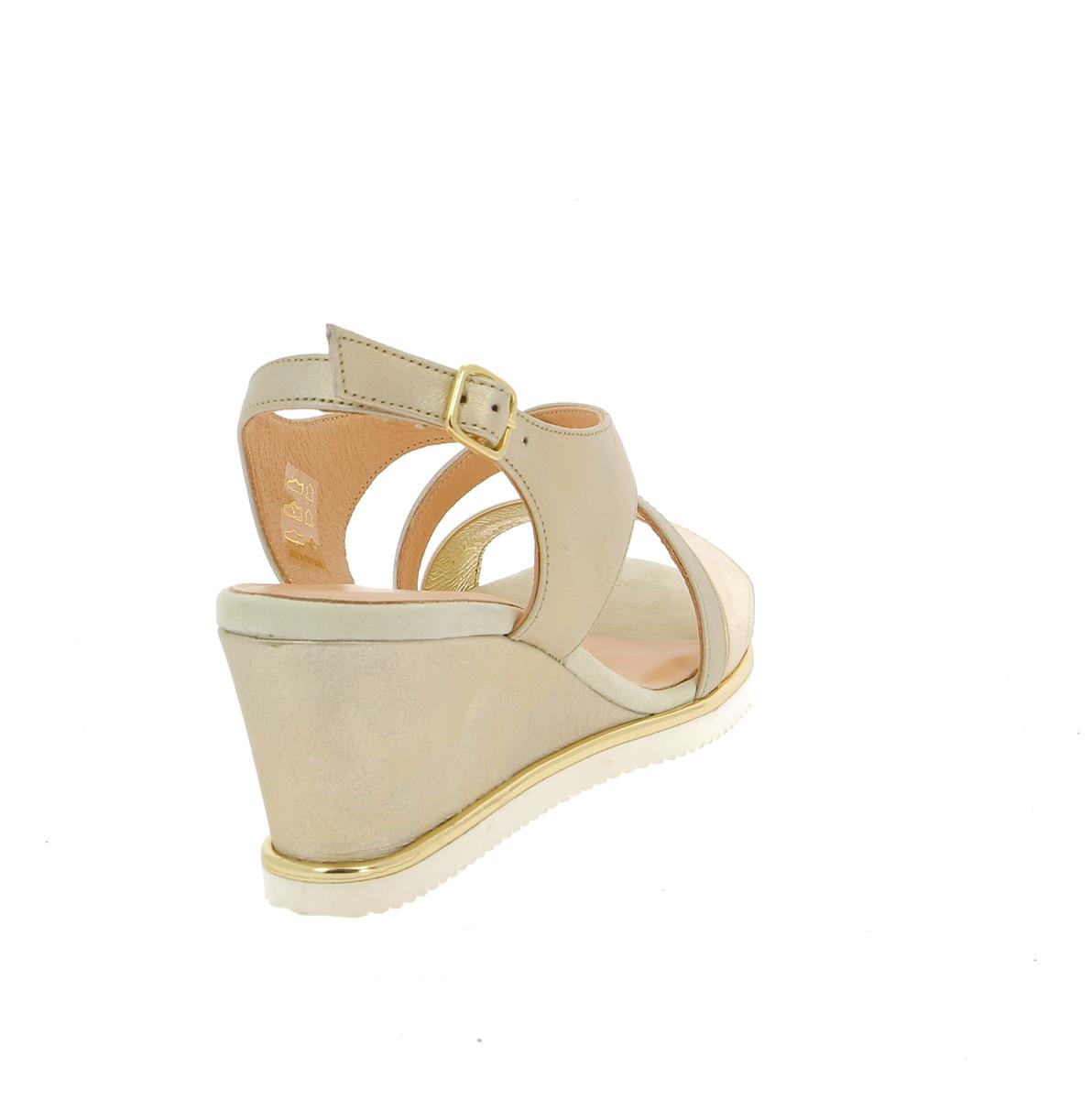 Softwaves Sandalen goud
