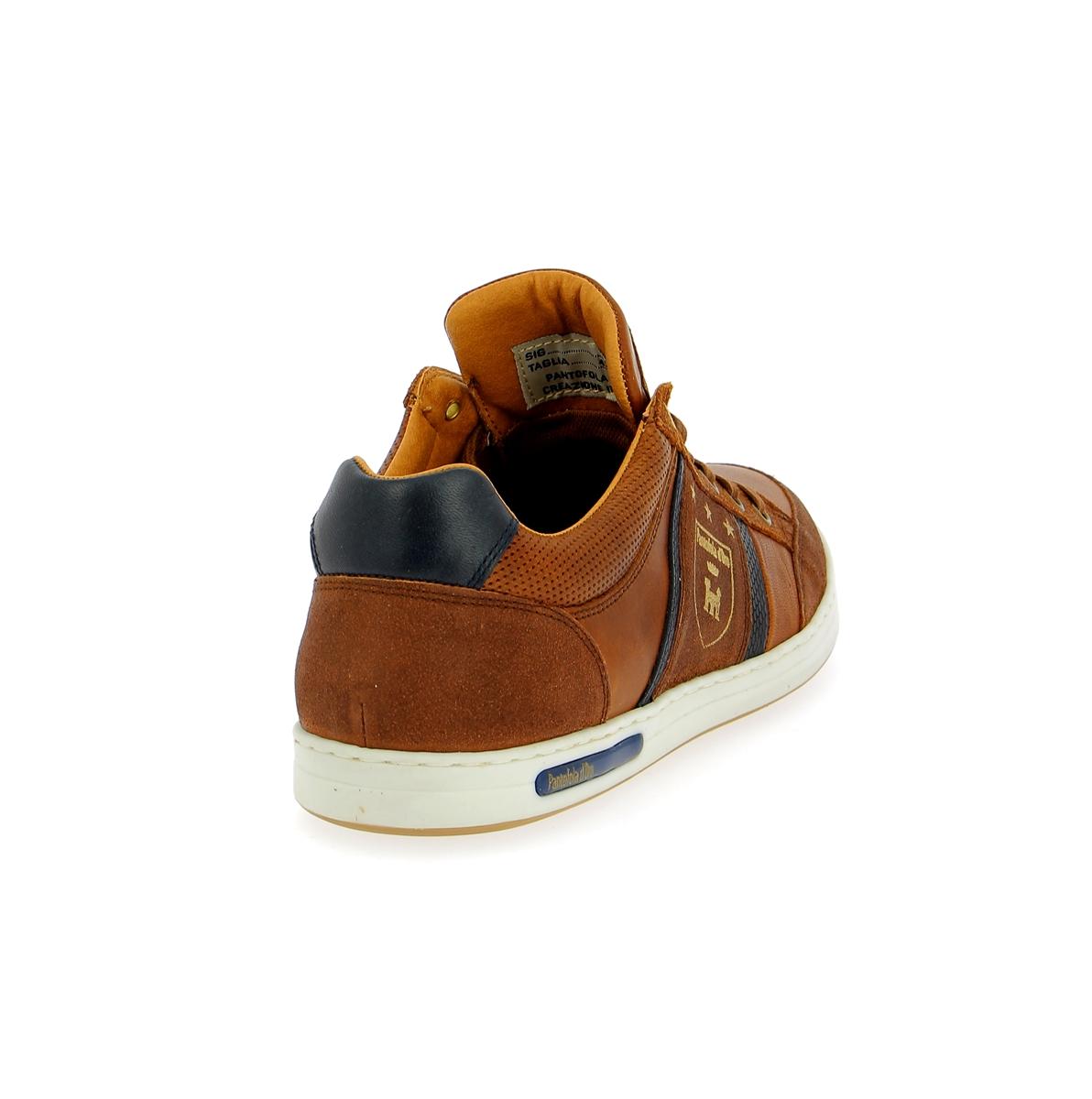 Pantofola D'oro Basket cognac